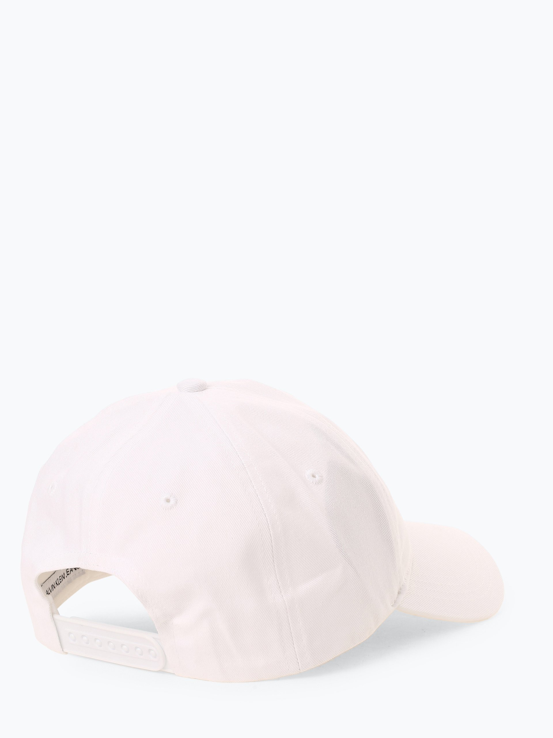 Calvin Klein Jeans Damska czapka z daszkiem z dodatkiem skóry