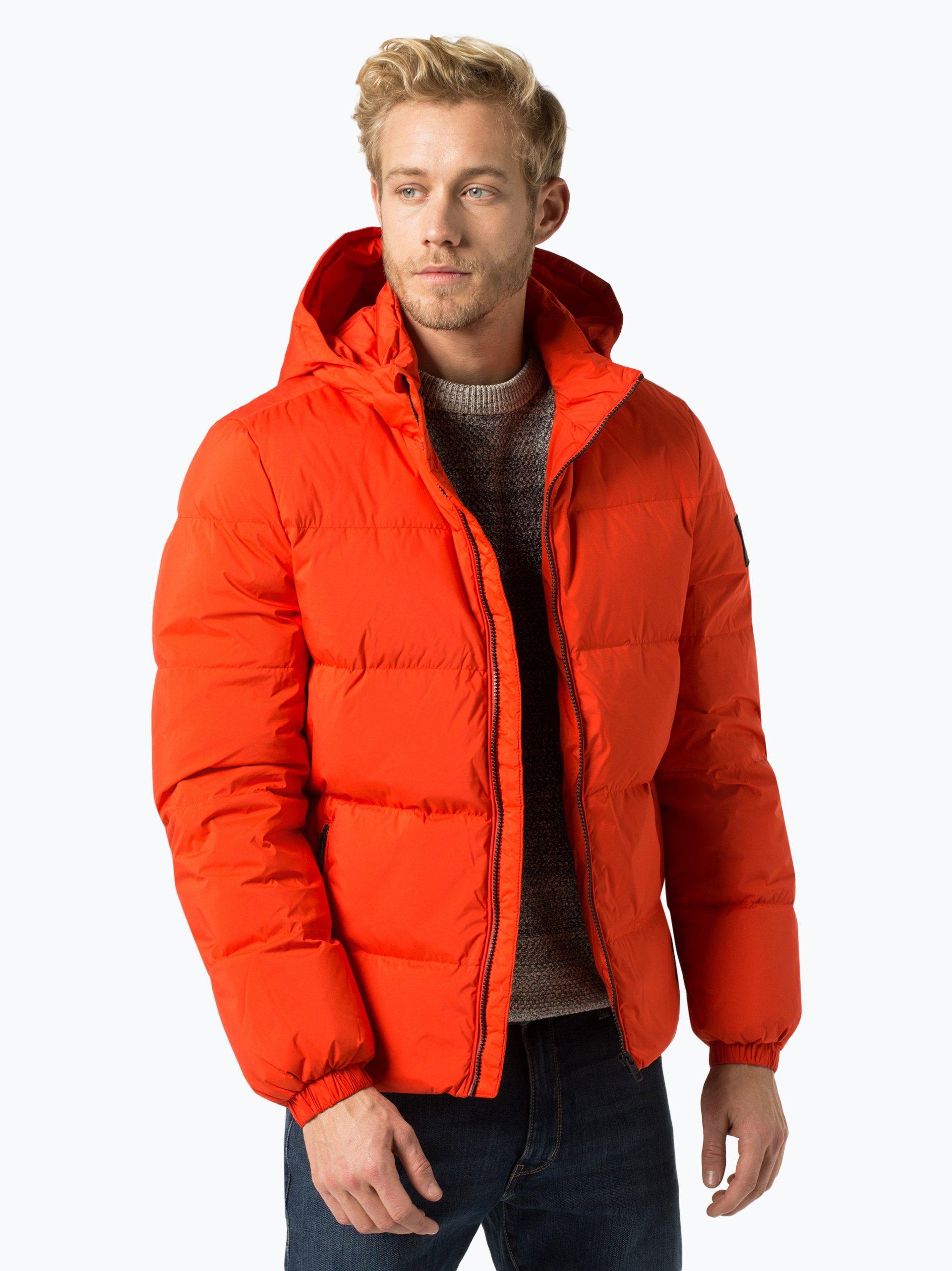 calvin klein jeans herren daunenjacke orange uni online kaufen peek und cloppenburg de. Black Bedroom Furniture Sets. Home Design Ideas