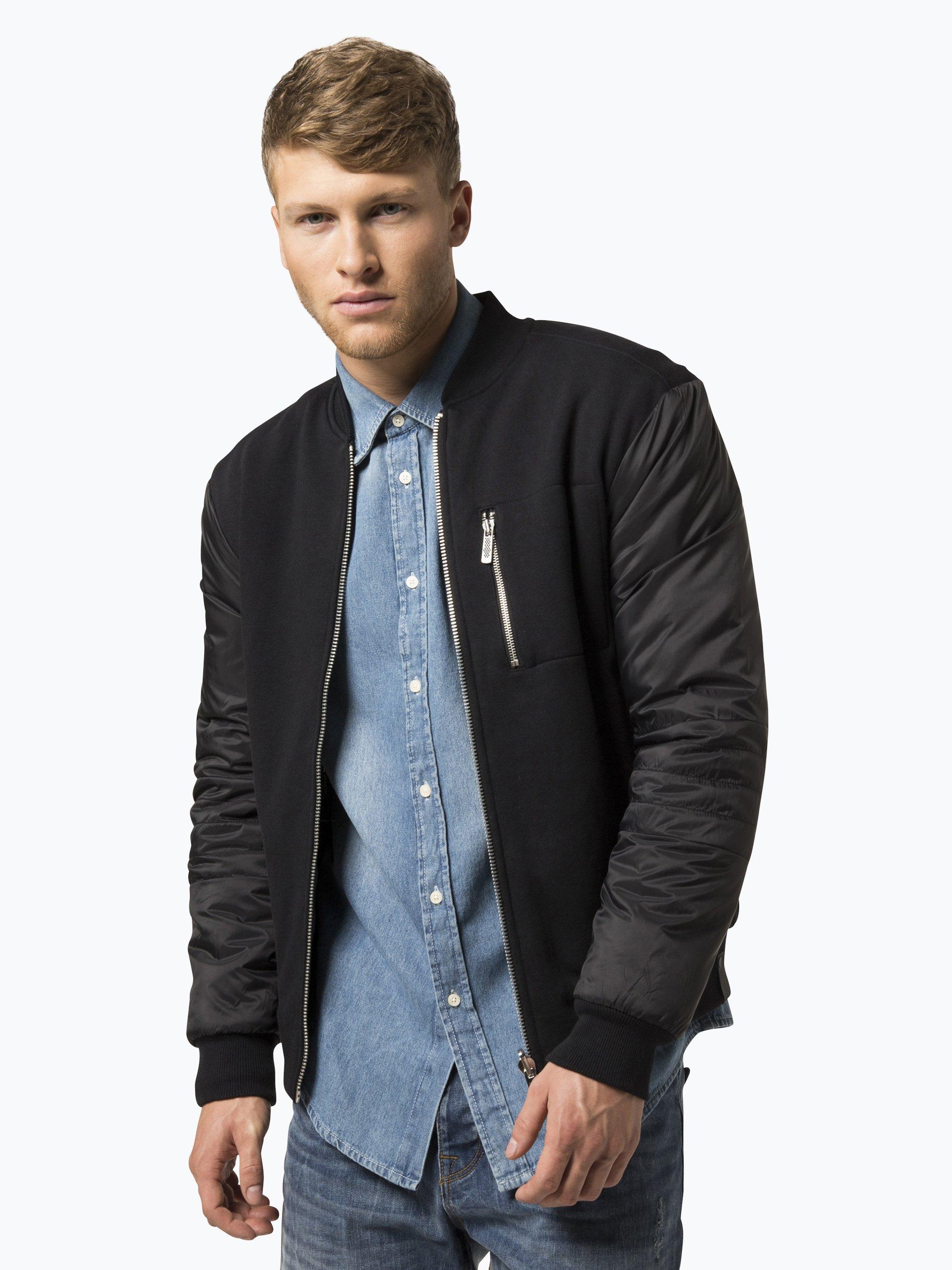 calvin klein jeans herren jacke husi3 schwarz uni online