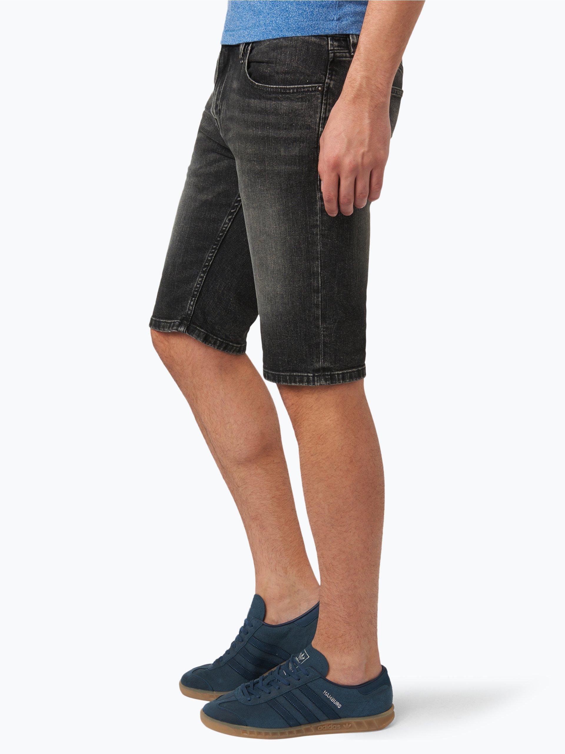 calvin klein jeans herren jeans bermuda schwarz uni online kaufen peek und cloppenburg de. Black Bedroom Furniture Sets. Home Design Ideas