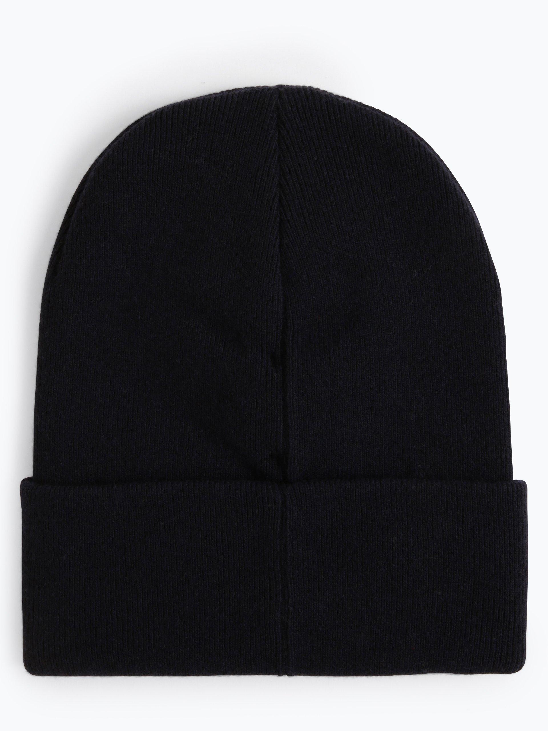 calvin klein jeans herren m tze mit cashmere anteil marine. Black Bedroom Furniture Sets. Home Design Ideas