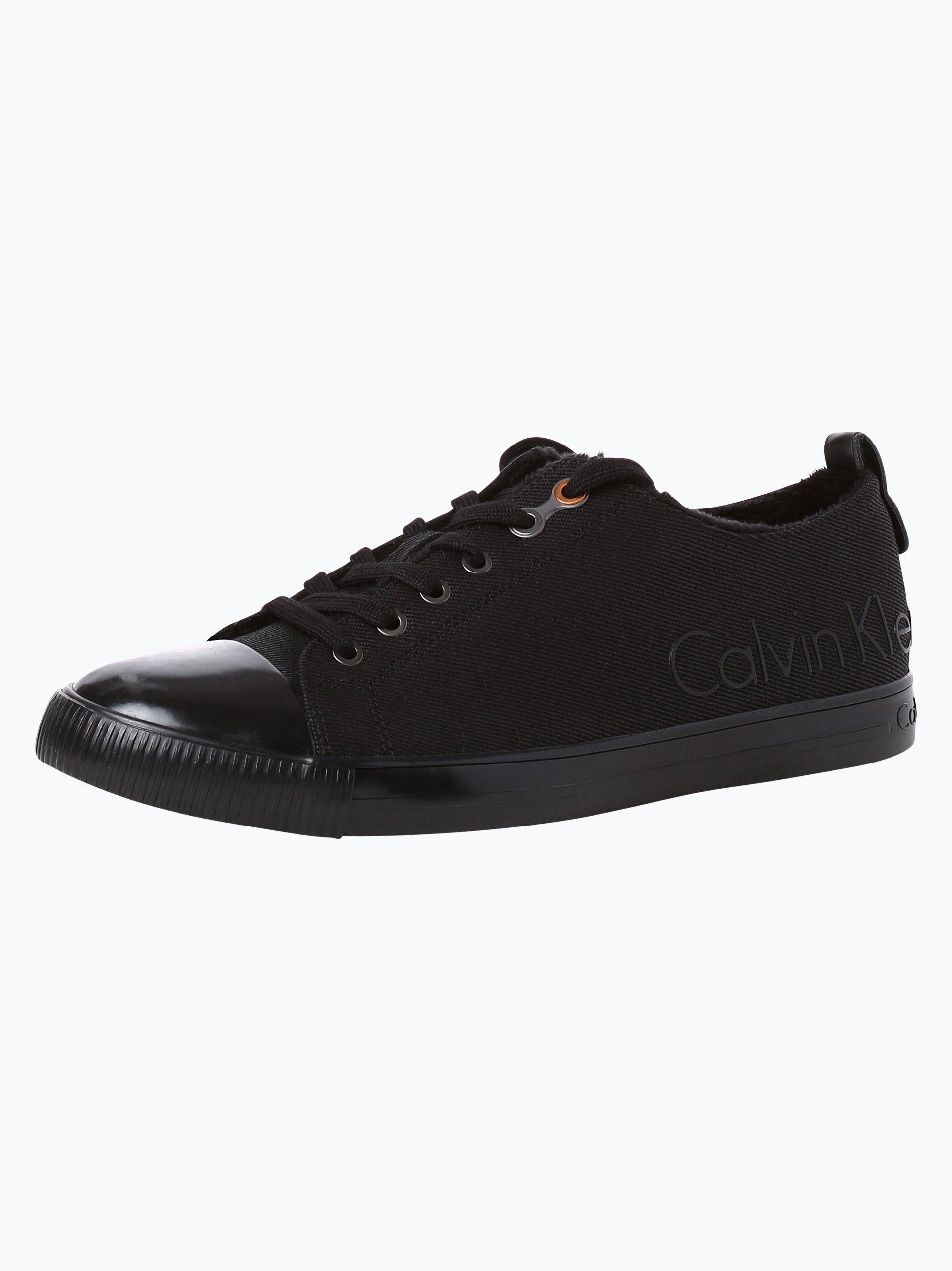 calvin klein jeans herren sneaker arturo schwarz uni. Black Bedroom Furniture Sets. Home Design Ideas