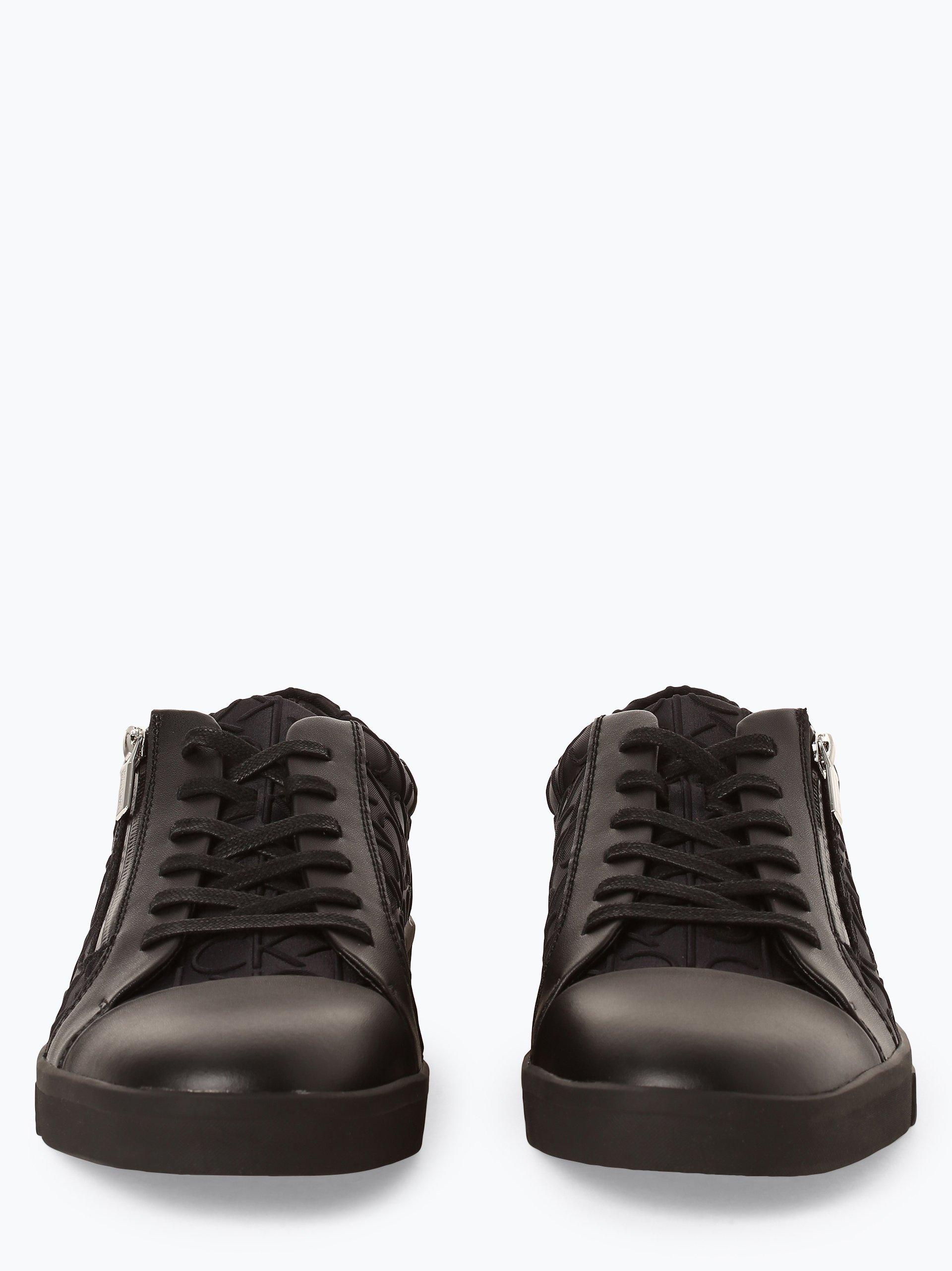 Calvin Klein Jeans Herren Sneaker mit Leder-Anteil