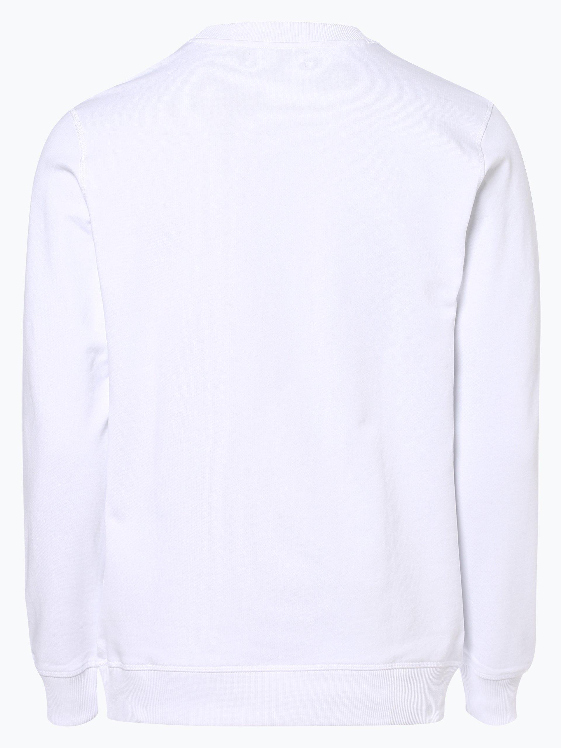 calvin klein jeans herren sweatshirt wei bedruckt online kaufen peek und cloppenburg de. Black Bedroom Furniture Sets. Home Design Ideas