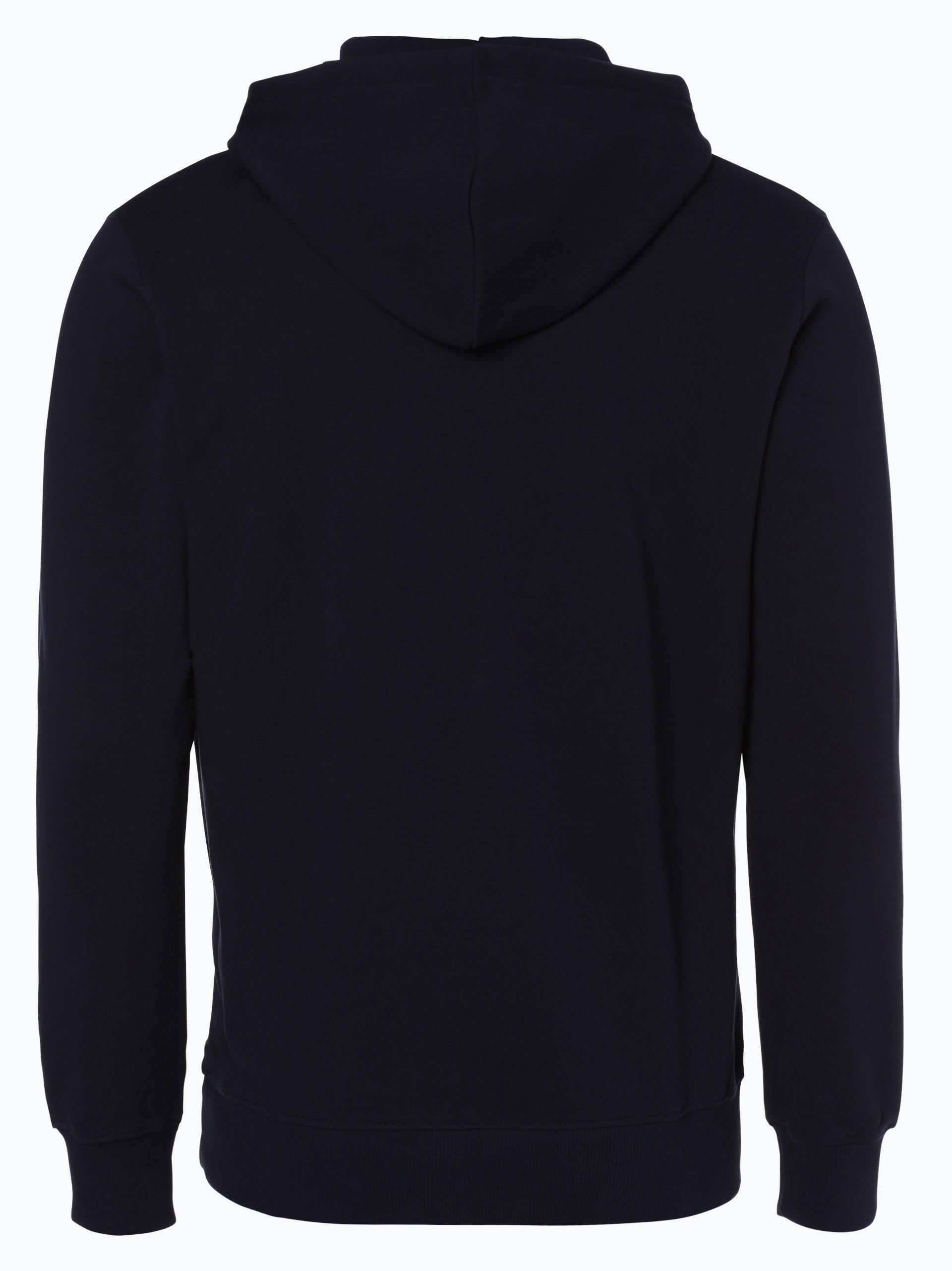calvin klein jeans herren sweatshirt marine gelb bedruckt online kaufen peek und cloppenburg de. Black Bedroom Furniture Sets. Home Design Ideas