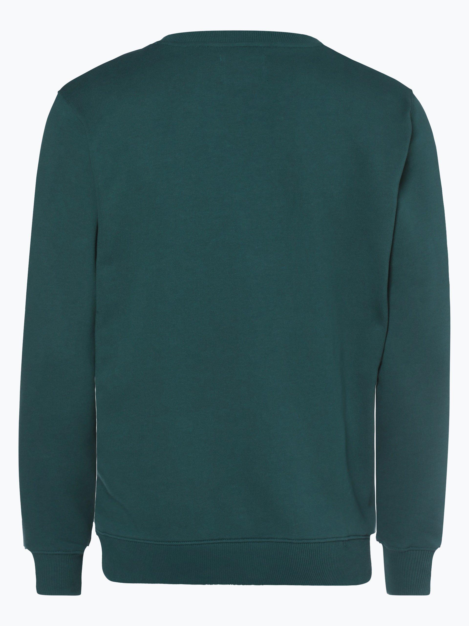 calvin klein jeans herren sweatshirt gr n bedruckt online kaufen vangraaf com. Black Bedroom Furniture Sets. Home Design Ideas