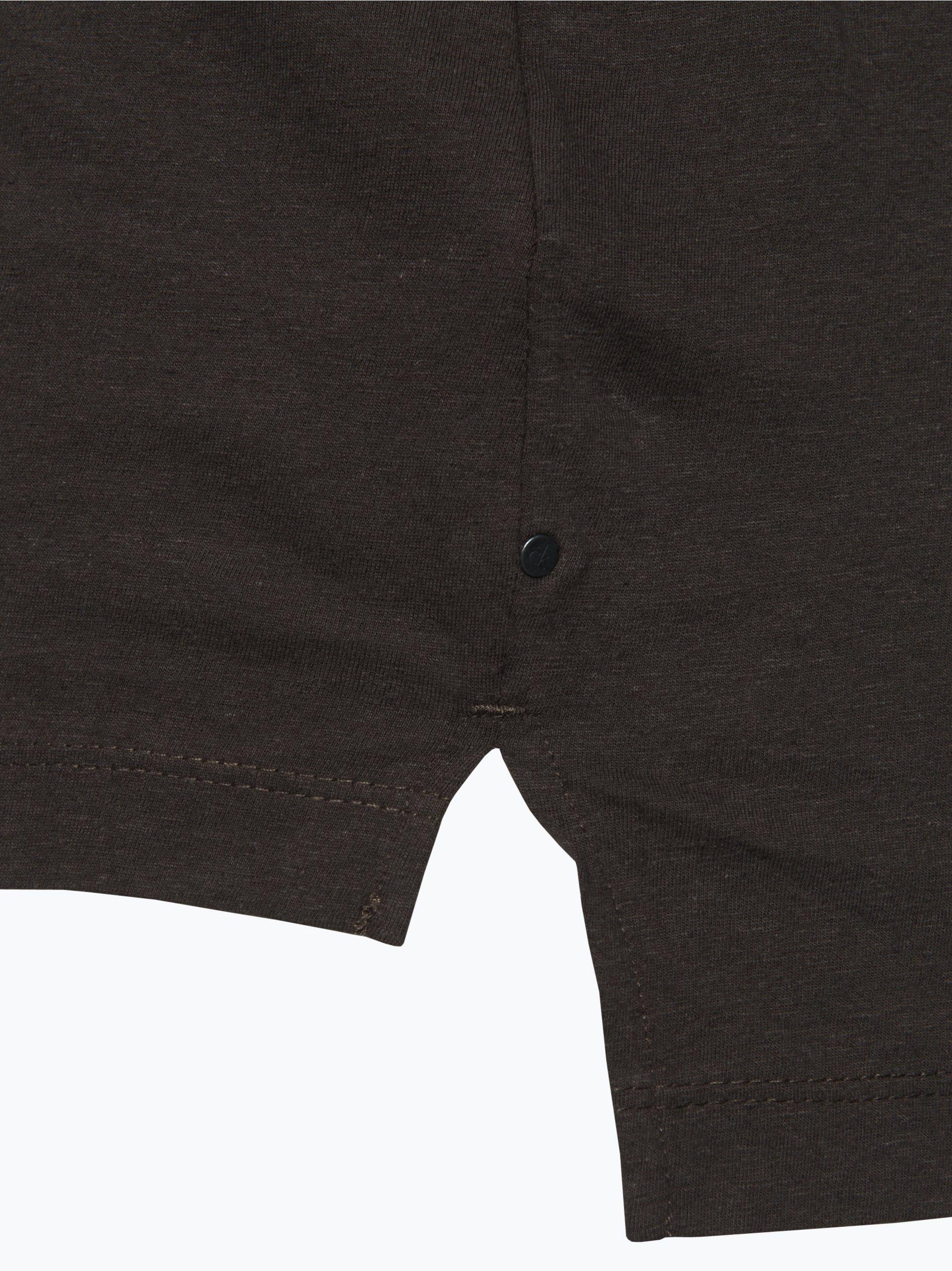calvin klein jeans herren tank top mit leinen anteil grau. Black Bedroom Furniture Sets. Home Design Ideas