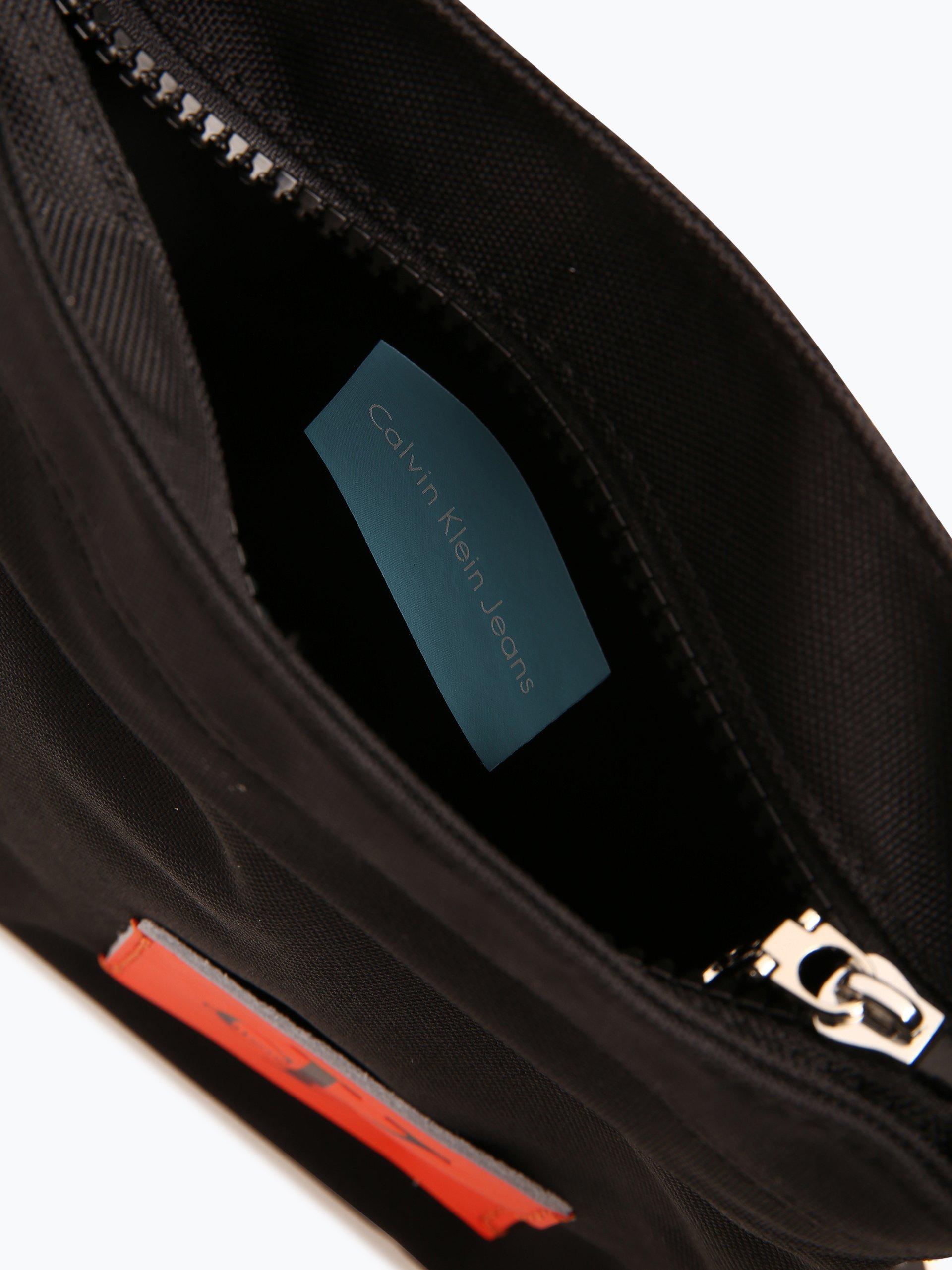 calvin klein jeans herren tasche mit leder anteil schwarz uni online kaufen vangraaf com. Black Bedroom Furniture Sets. Home Design Ideas