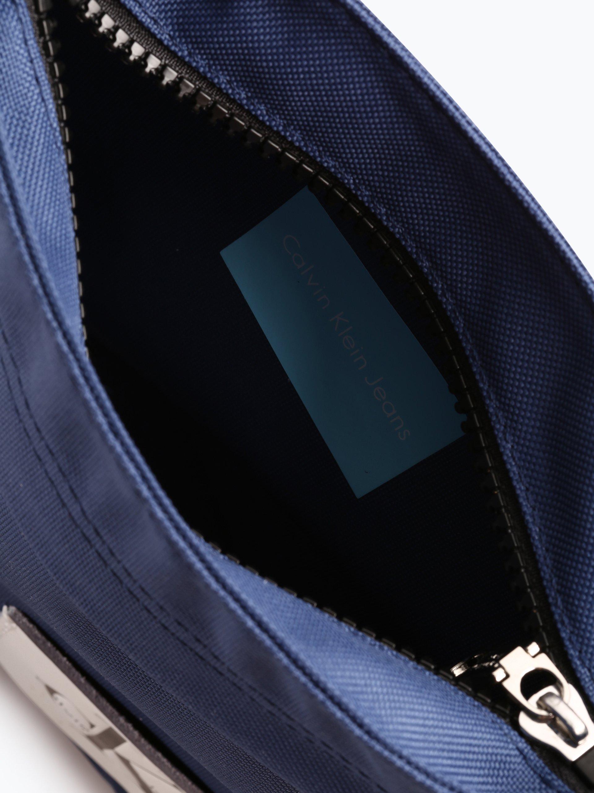 calvin klein jeans herren tasche mit leder anteil blau uni online kaufen peek und cloppenburg de. Black Bedroom Furniture Sets. Home Design Ideas
