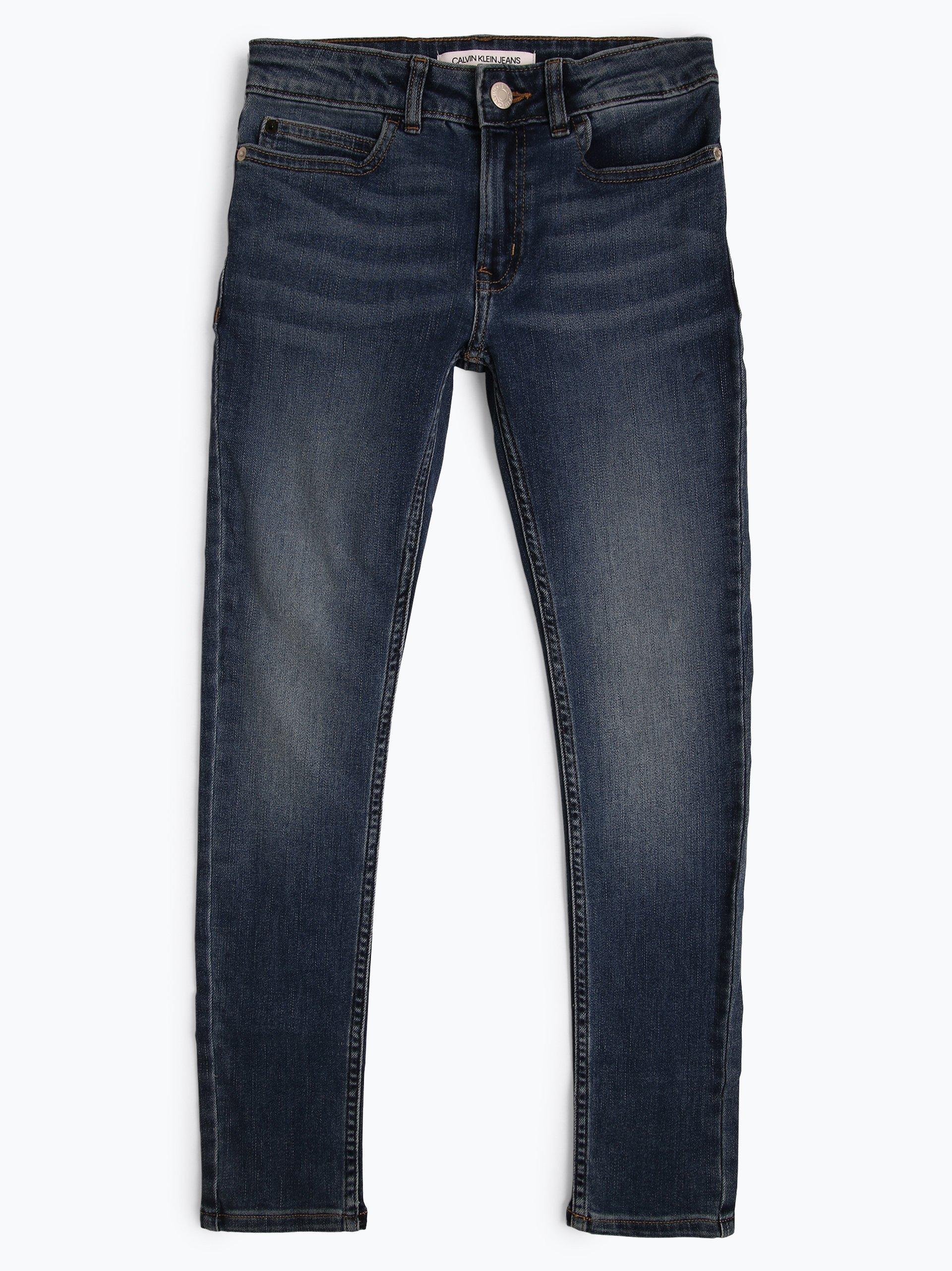Calvin Klein Jeans Mädchen Jeans Skinny Fit