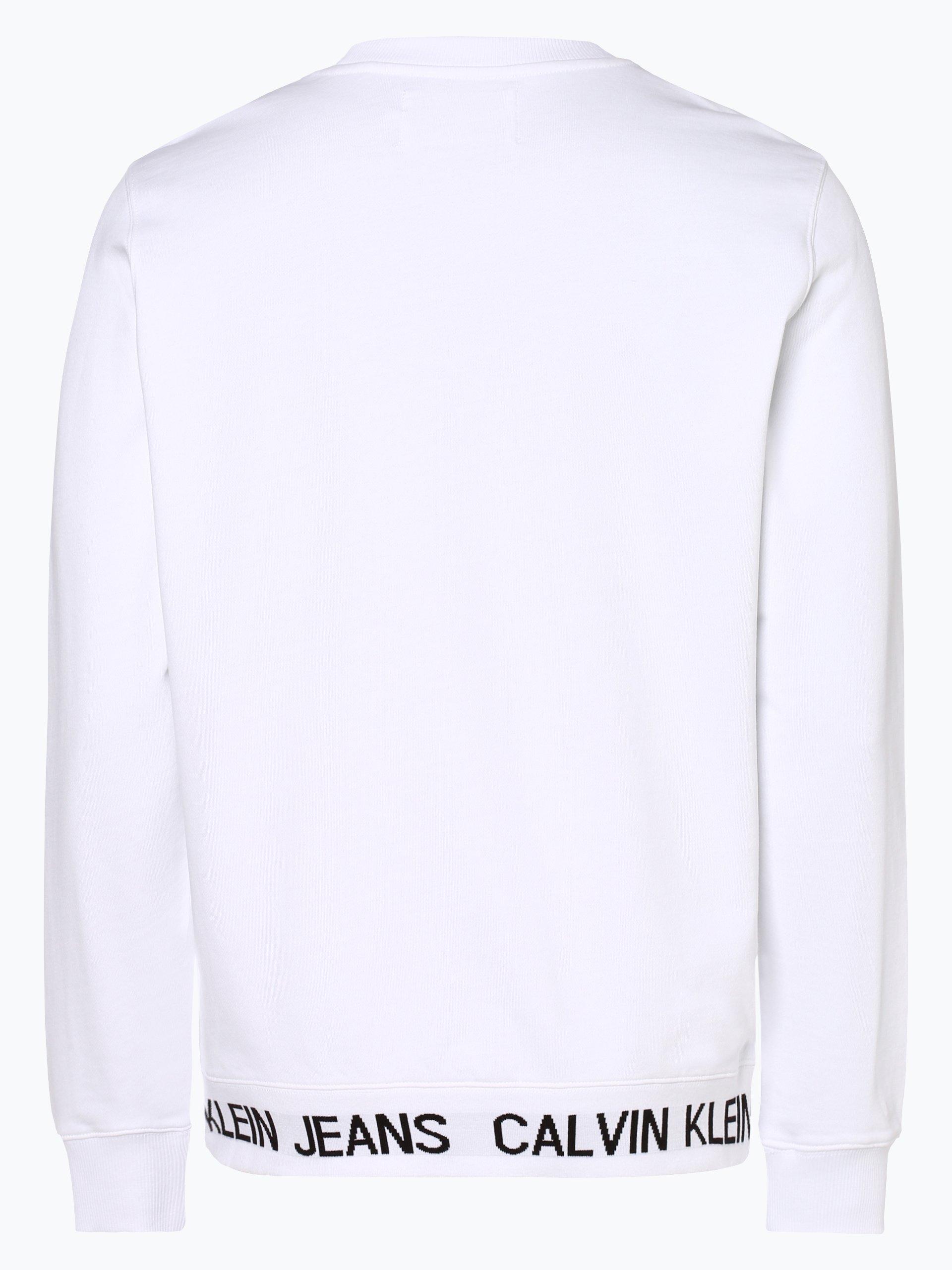 Calvin Klein Jeans Męska bluza nierozpinana