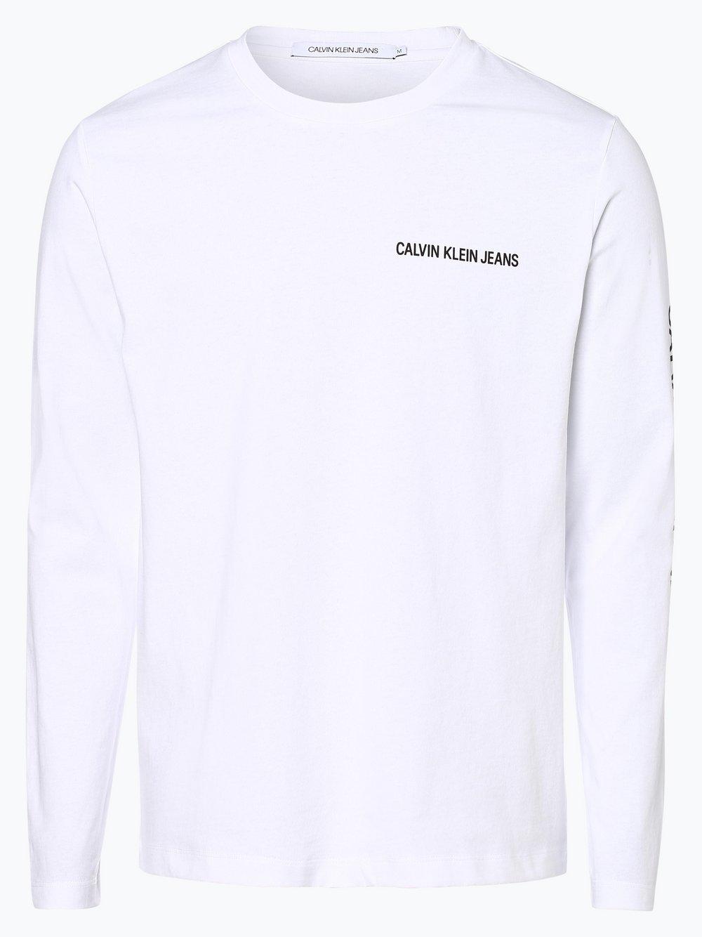 Calvin Klein Jeans Męska koszulka z długim rękawem kup
