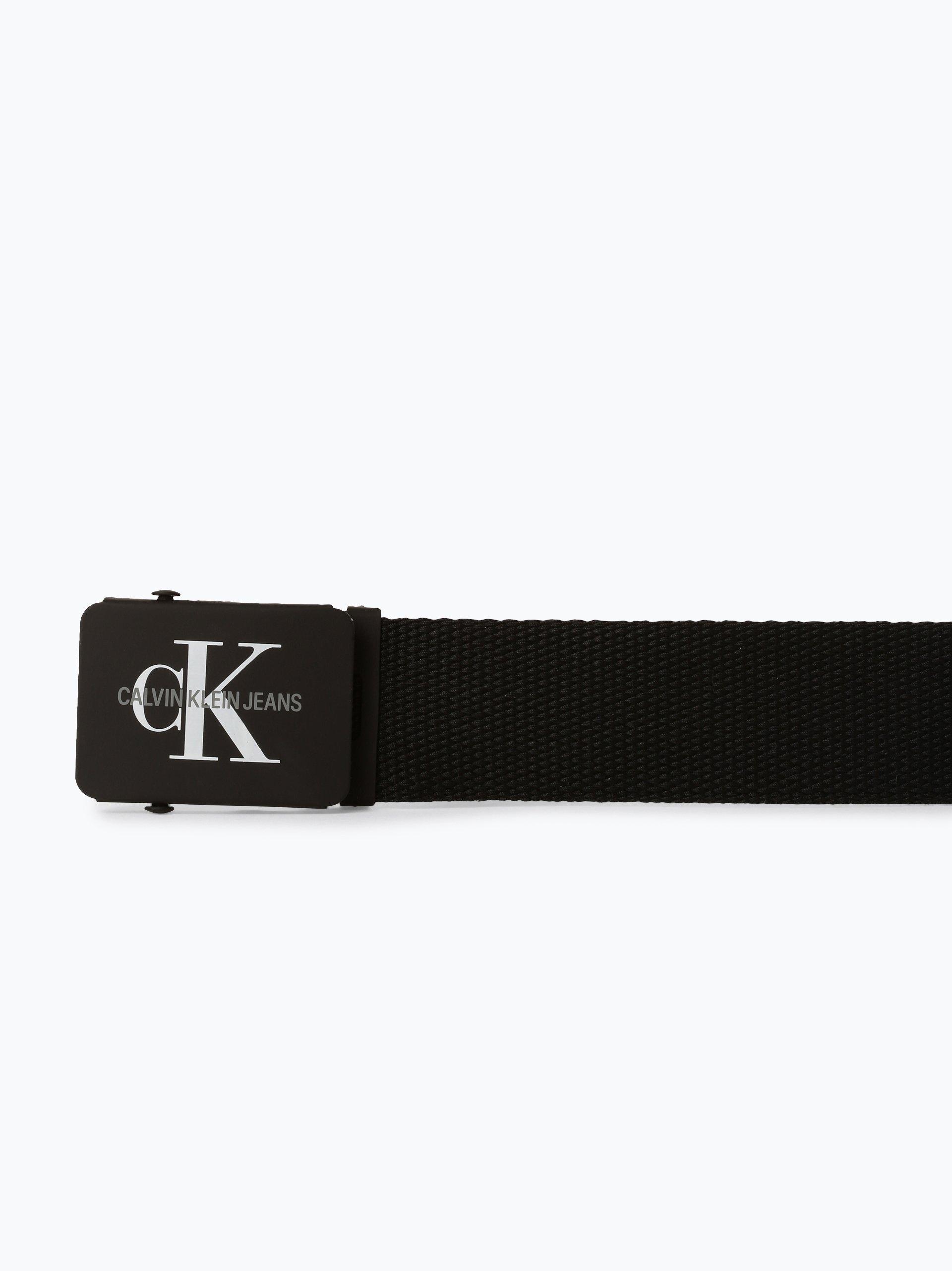 Calvin Klein Jeans Pasek męski z dodatkiem skóry