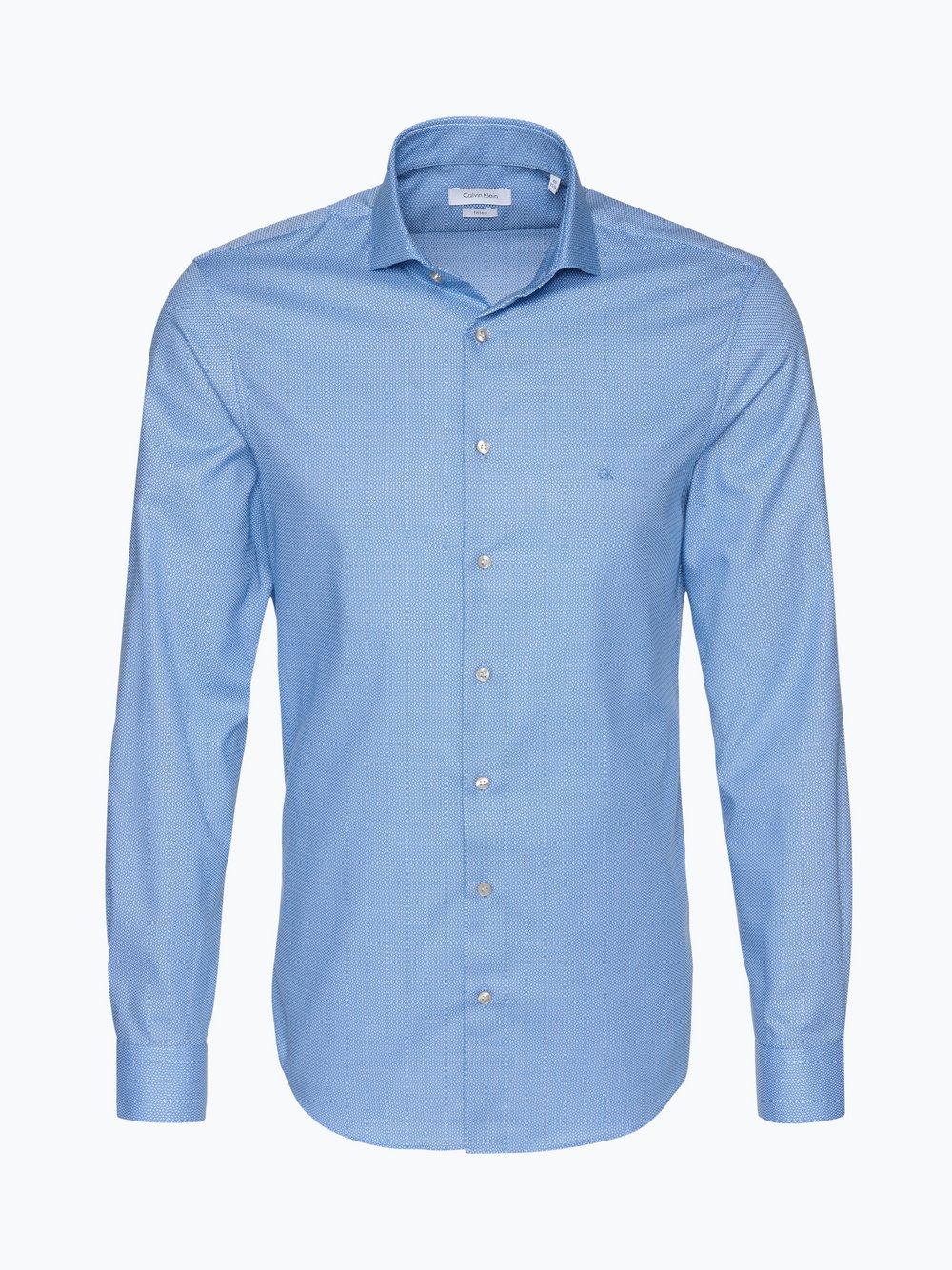 cda0d998e Calvin Klein Koszula męska łatwa w prasowaniu kup online   VANGRAAF.COM