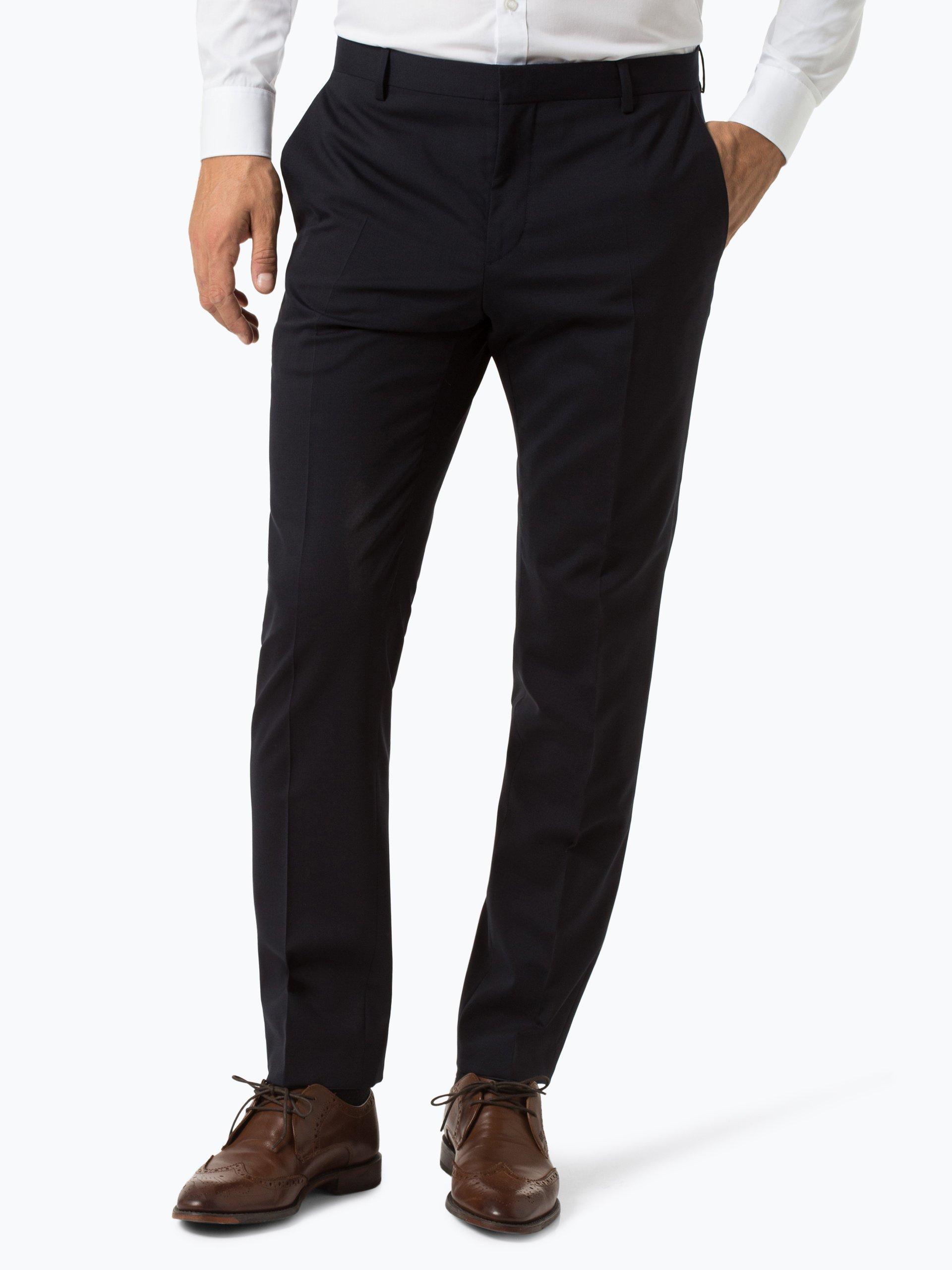 Calvin Klein Męskie spodnie od garnituru modułowego