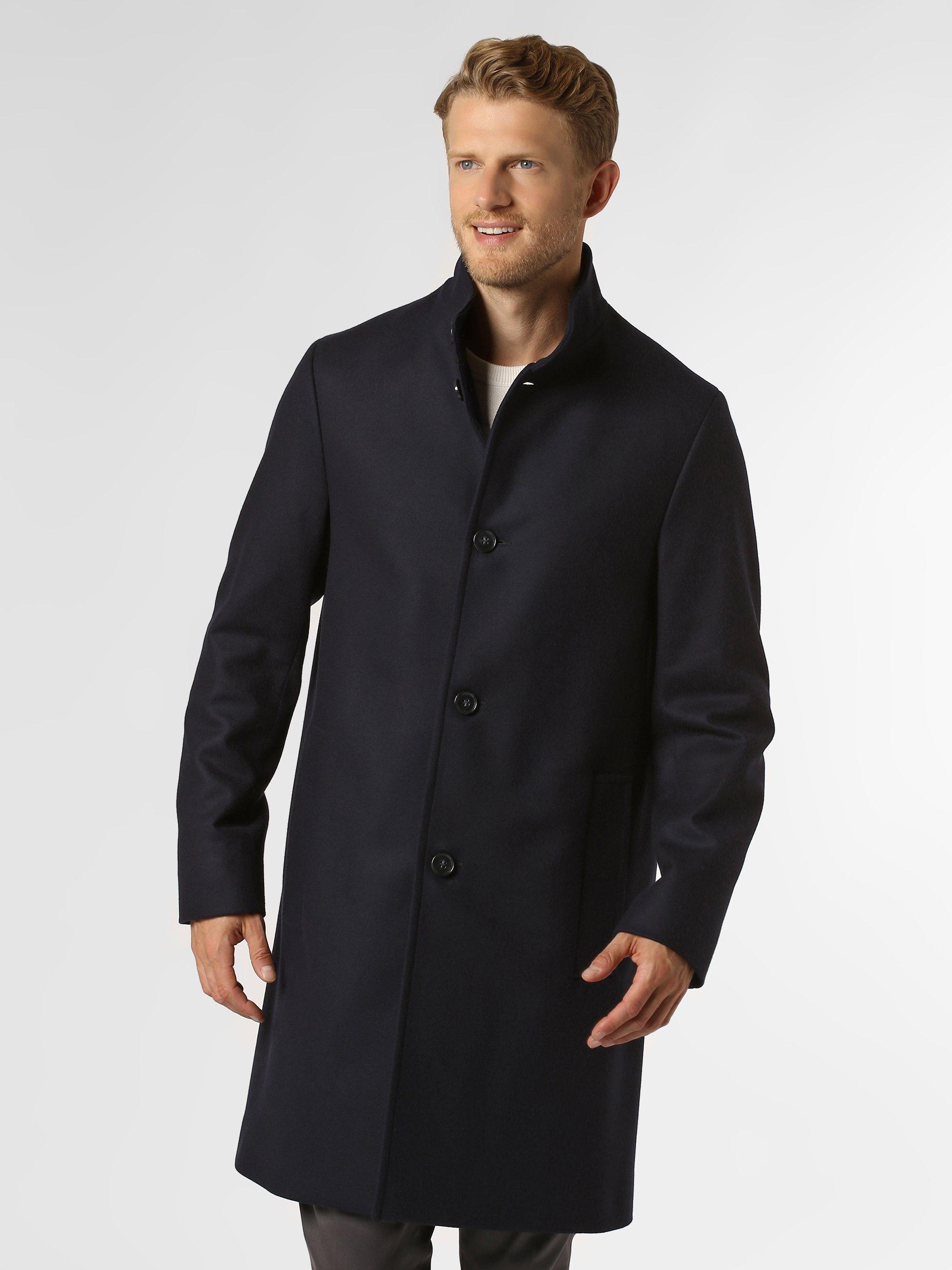 Calvin Klein Płaszcz męski z dodatkiem kaszmiru