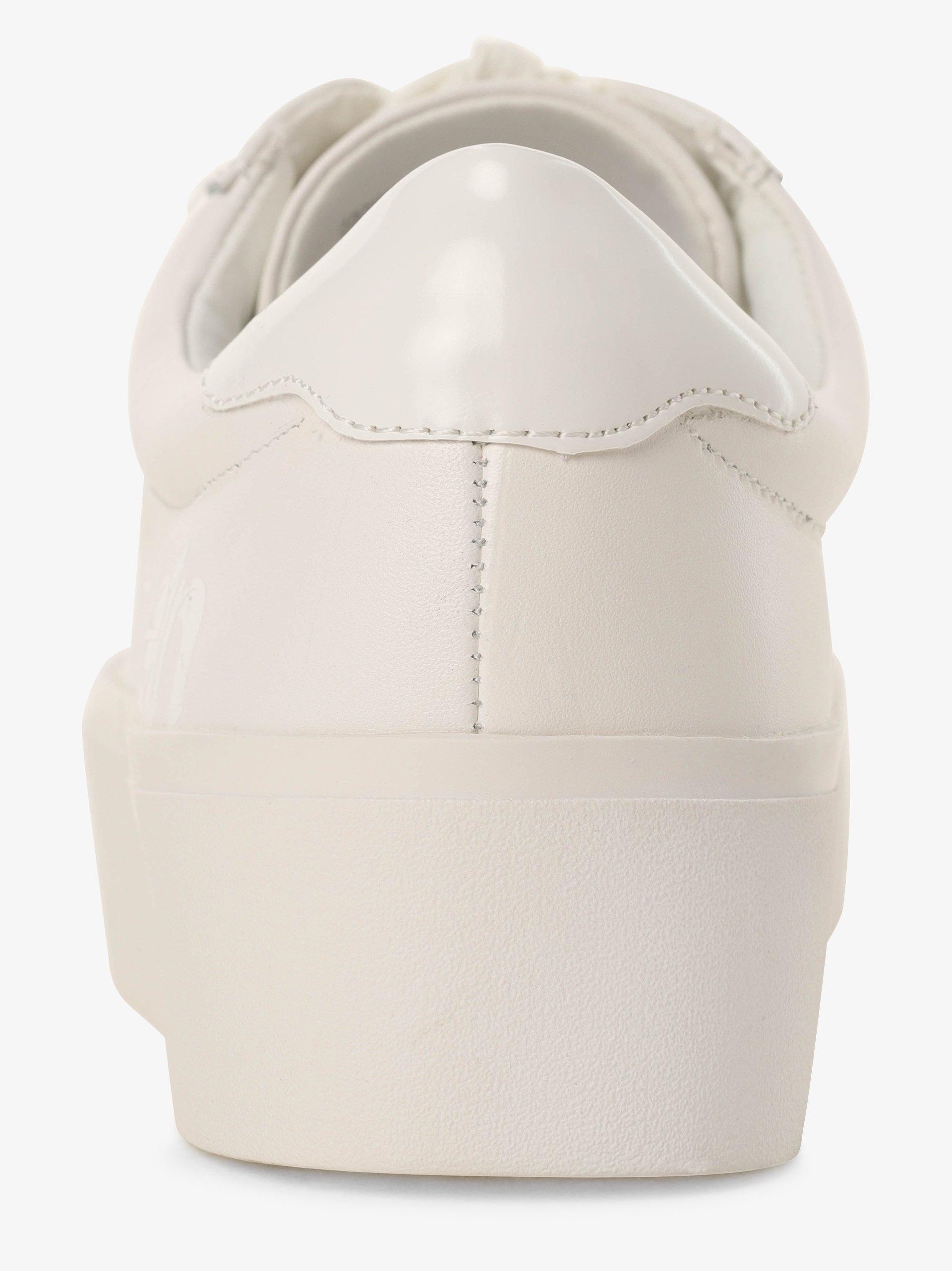 Calvin Klein Tenisówki damskie z dodatkiem skóry – Janika