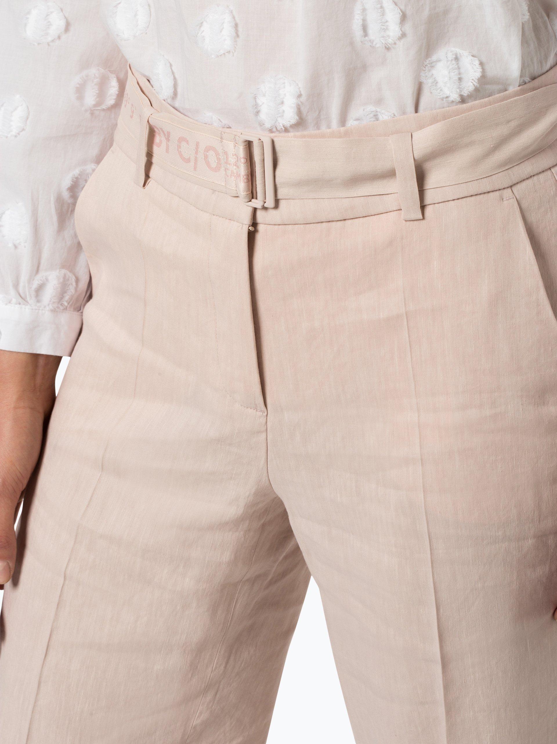 Cambio Damen Hose mit Leinen-Anteil - Claire