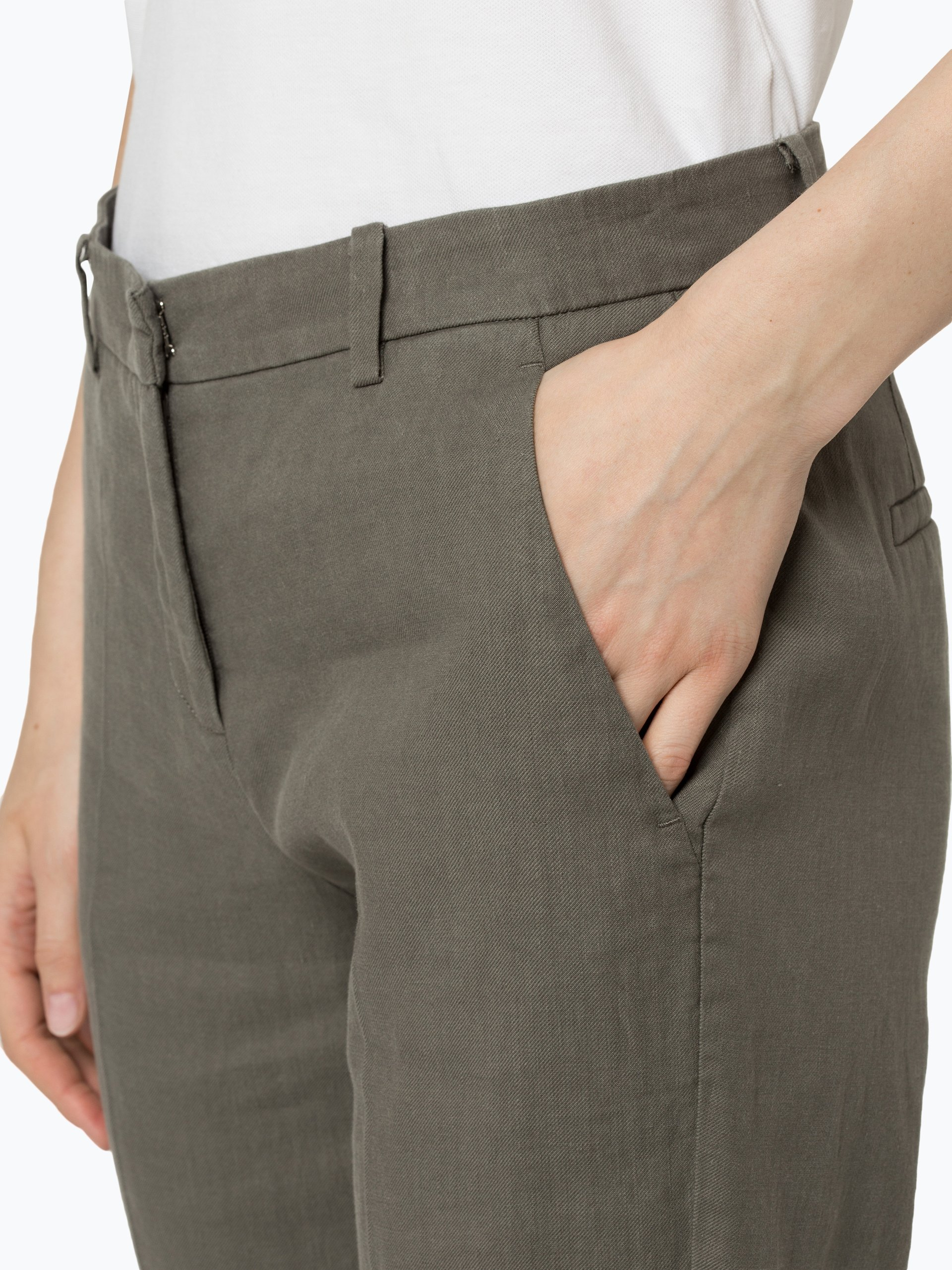 Cambio Damen Hose mit Leinen-Anteil - Krystal
