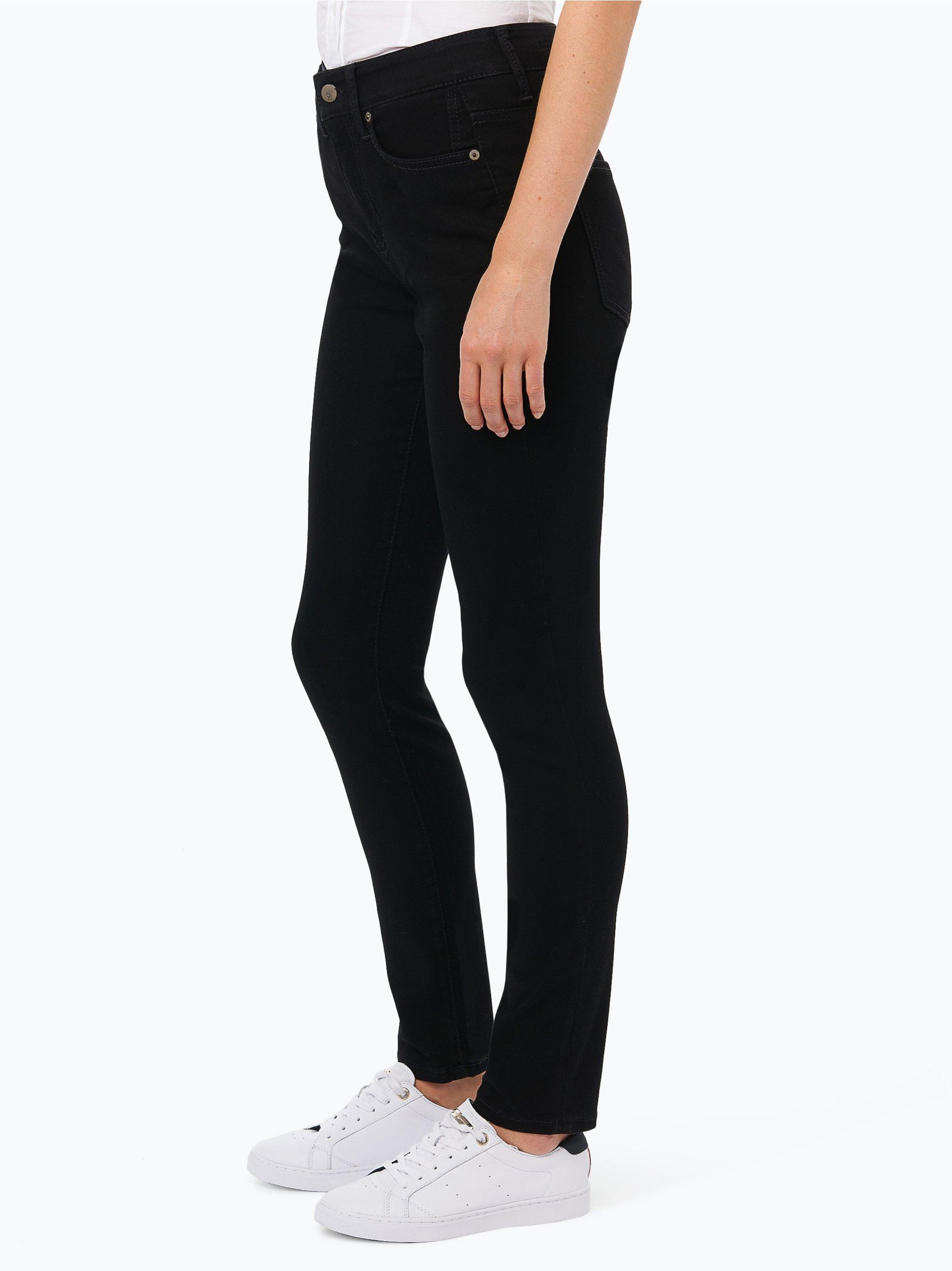 cambio damen jeans jenice schwarz uni online kaufen. Black Bedroom Furniture Sets. Home Design Ideas