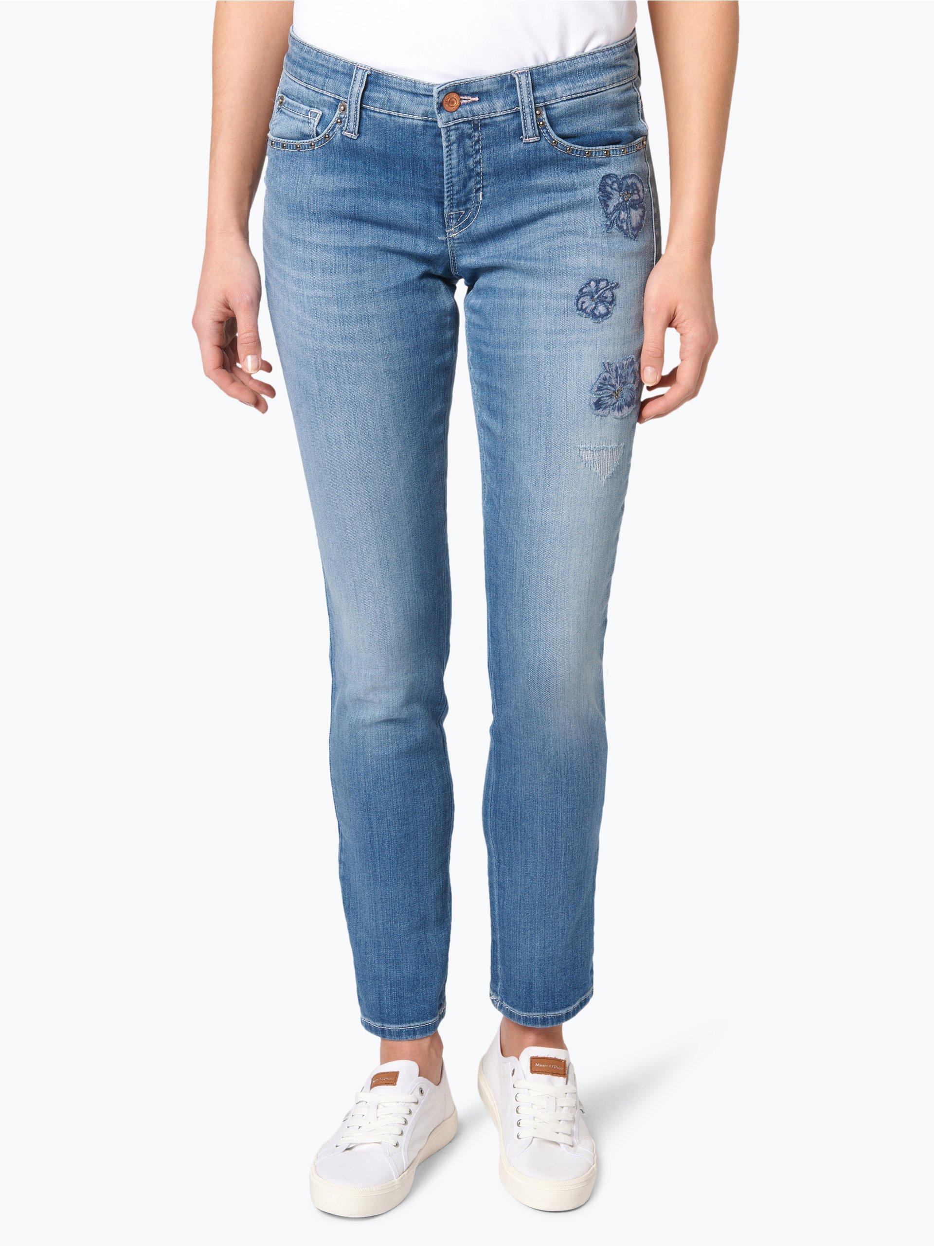 cambio damen jeans lili blue stone gemustert online. Black Bedroom Furniture Sets. Home Design Ideas