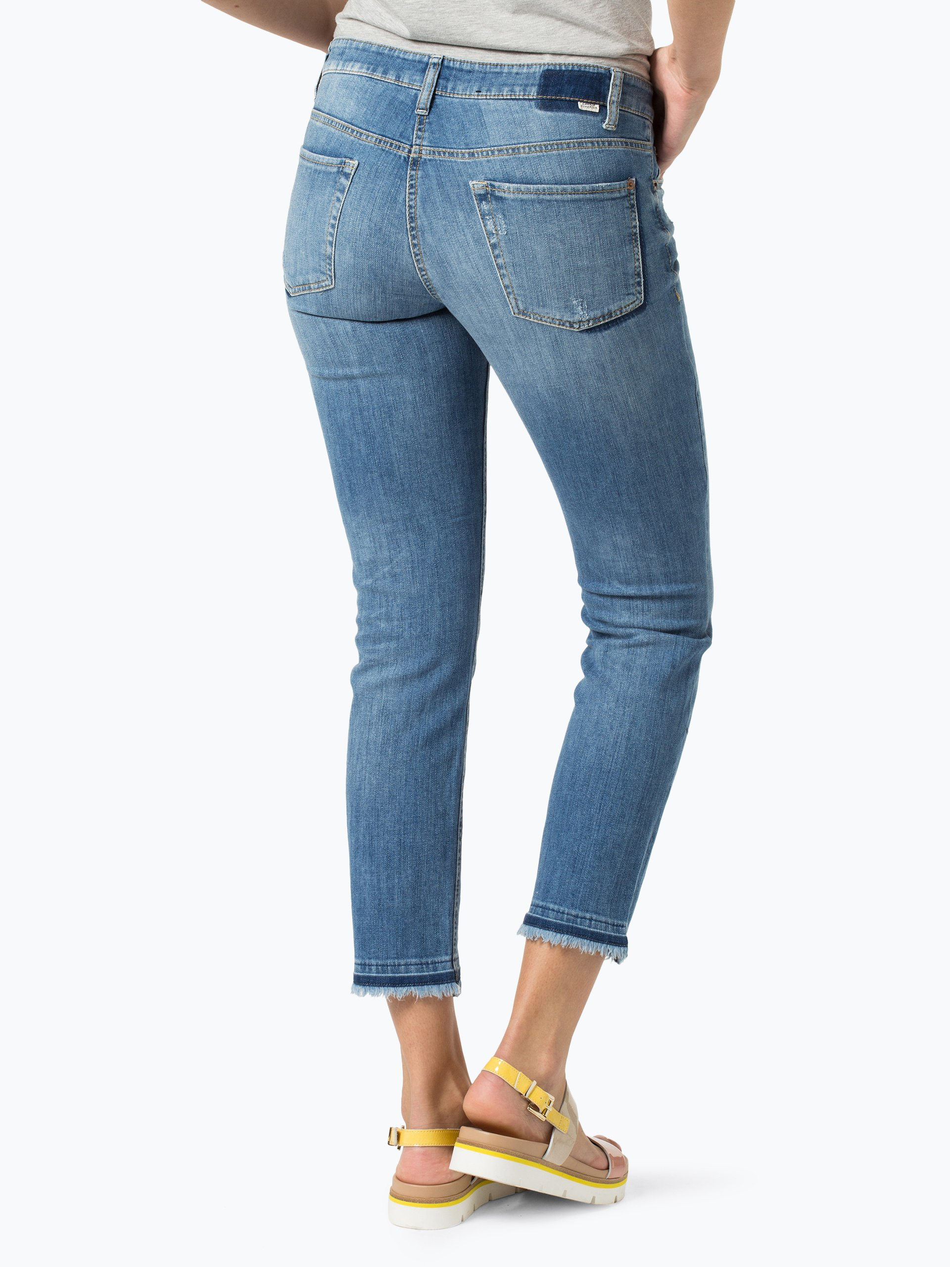 cambio damen jeans liu medium stone uni online kaufen vangraaf com. Black Bedroom Furniture Sets. Home Design Ideas