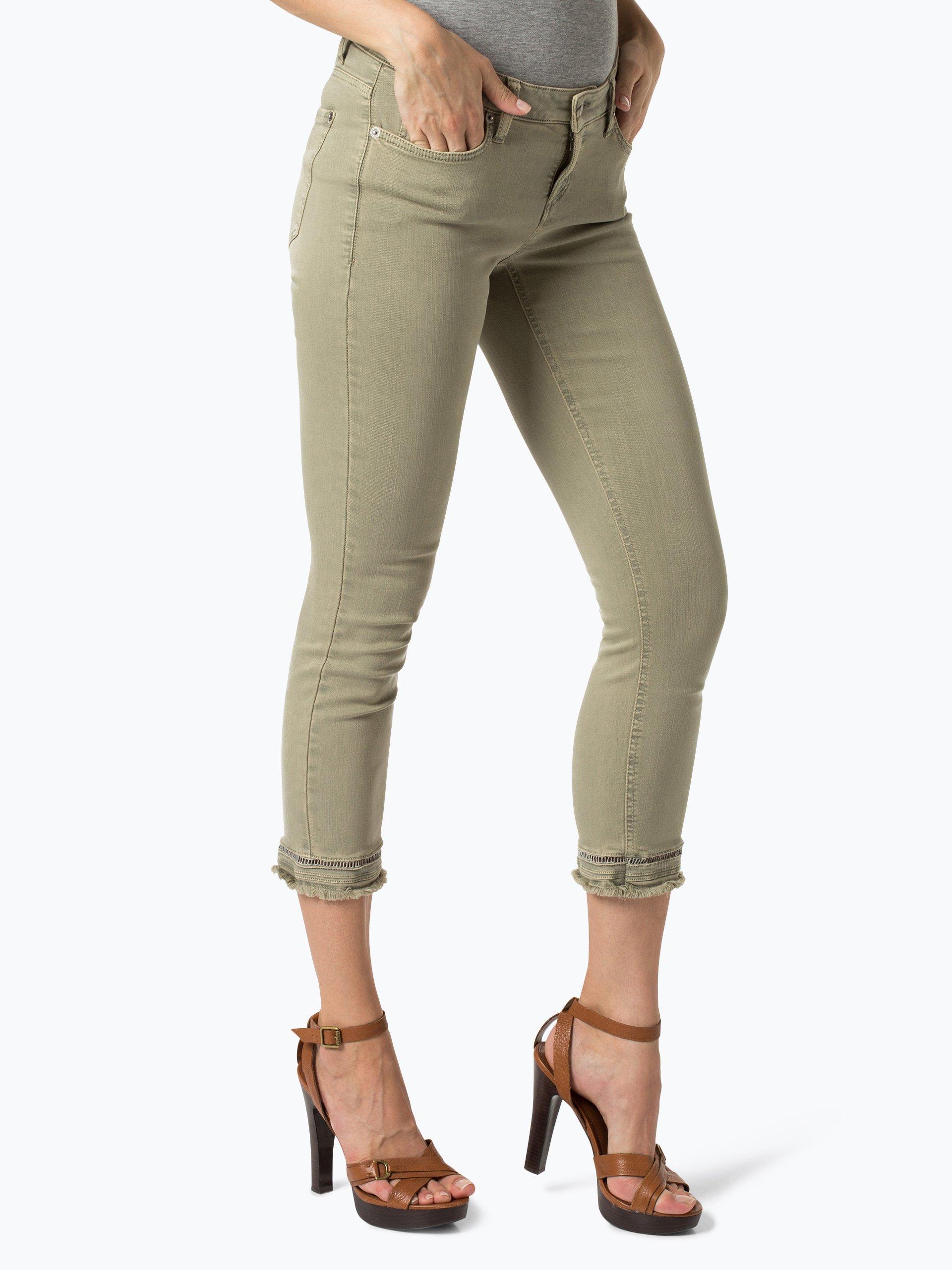cambio damen jeans liu khaki uni online kaufen peek und cloppenburg de. Black Bedroom Furniture Sets. Home Design Ideas