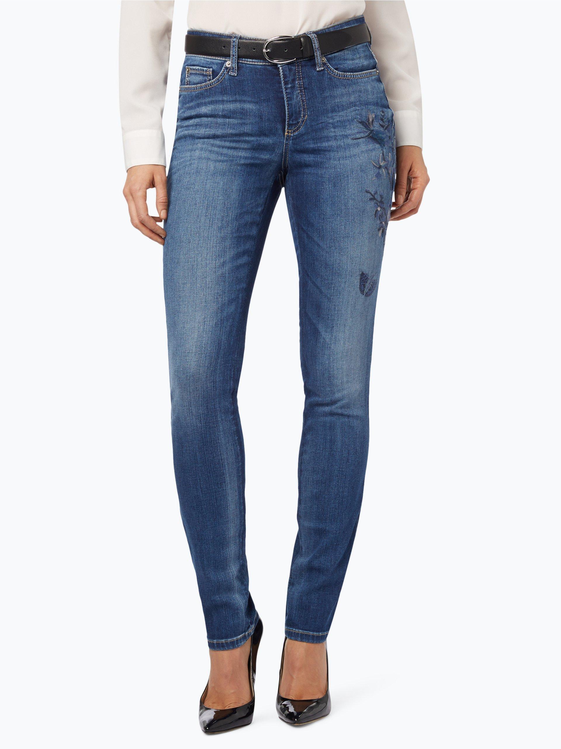 cambio damen jeans parla blue stone gemustert online kaufen vangraaf com. Black Bedroom Furniture Sets. Home Design Ideas