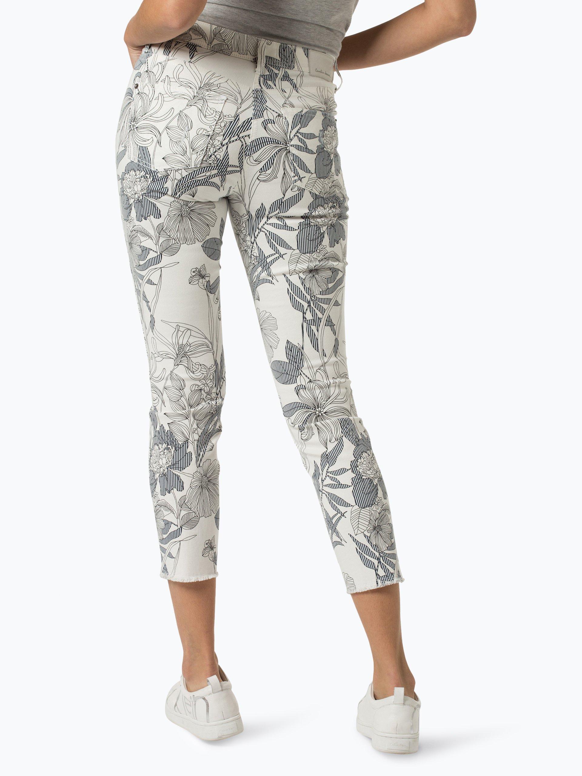 cambio damen jeans parla wei gemustert online kaufen peek und cloppenburg de. Black Bedroom Furniture Sets. Home Design Ideas