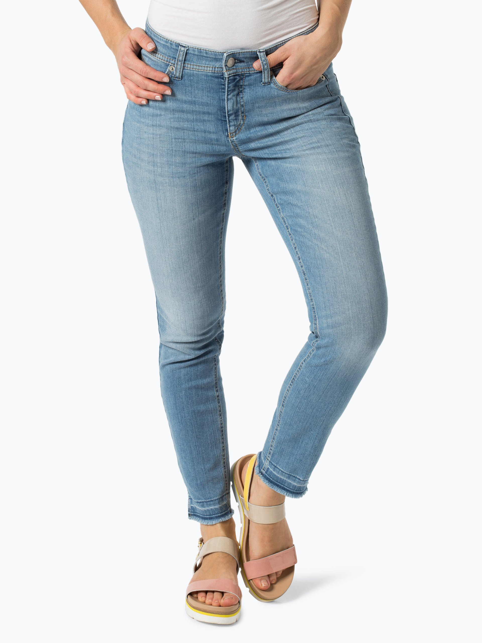 cambio damen jeans parla light stone uni online kaufen vangraaf com. Black Bedroom Furniture Sets. Home Design Ideas