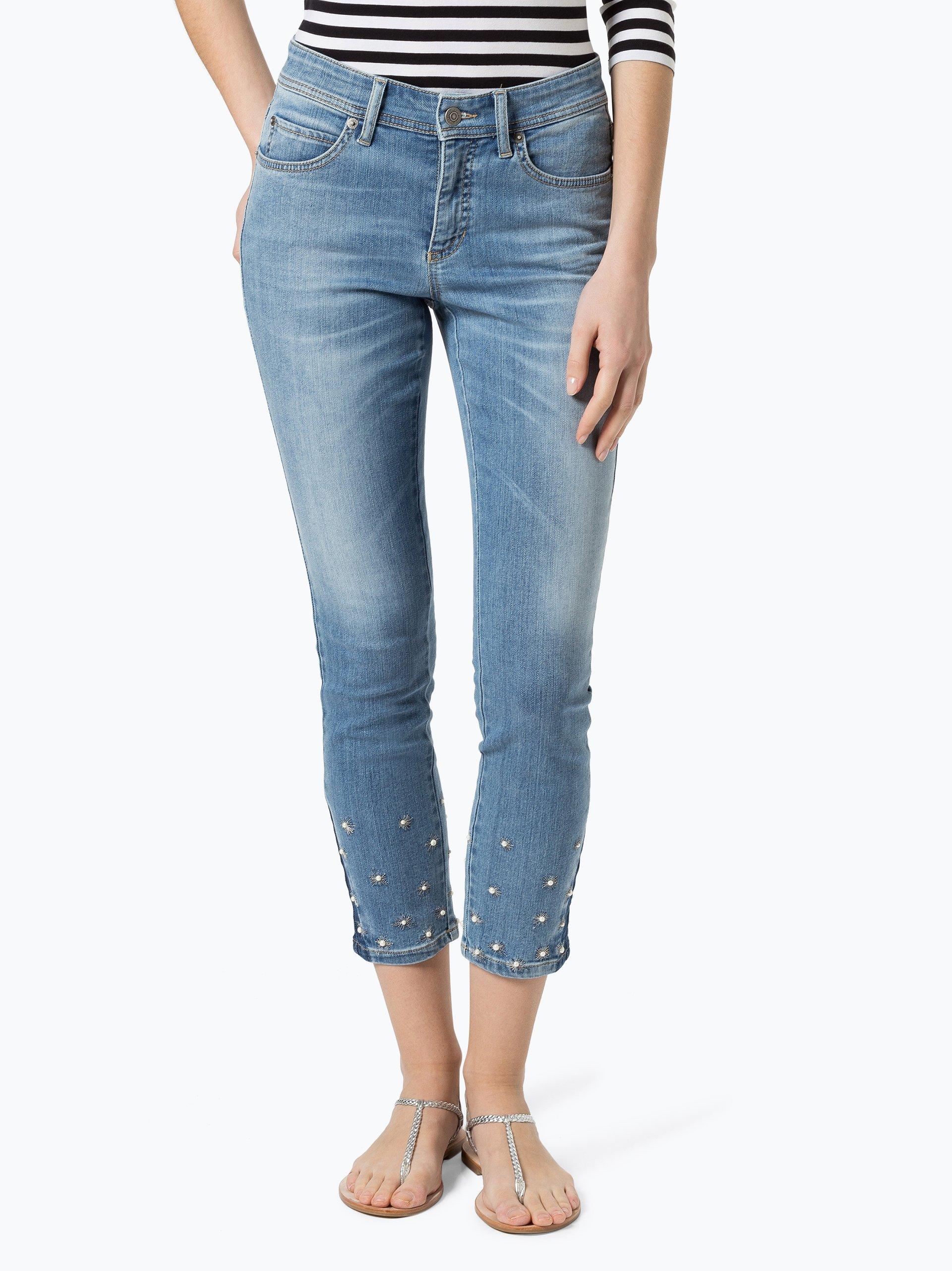 cambio damen jeans parla light stone gemustert online kaufen vangraaf com. Black Bedroom Furniture Sets. Home Design Ideas