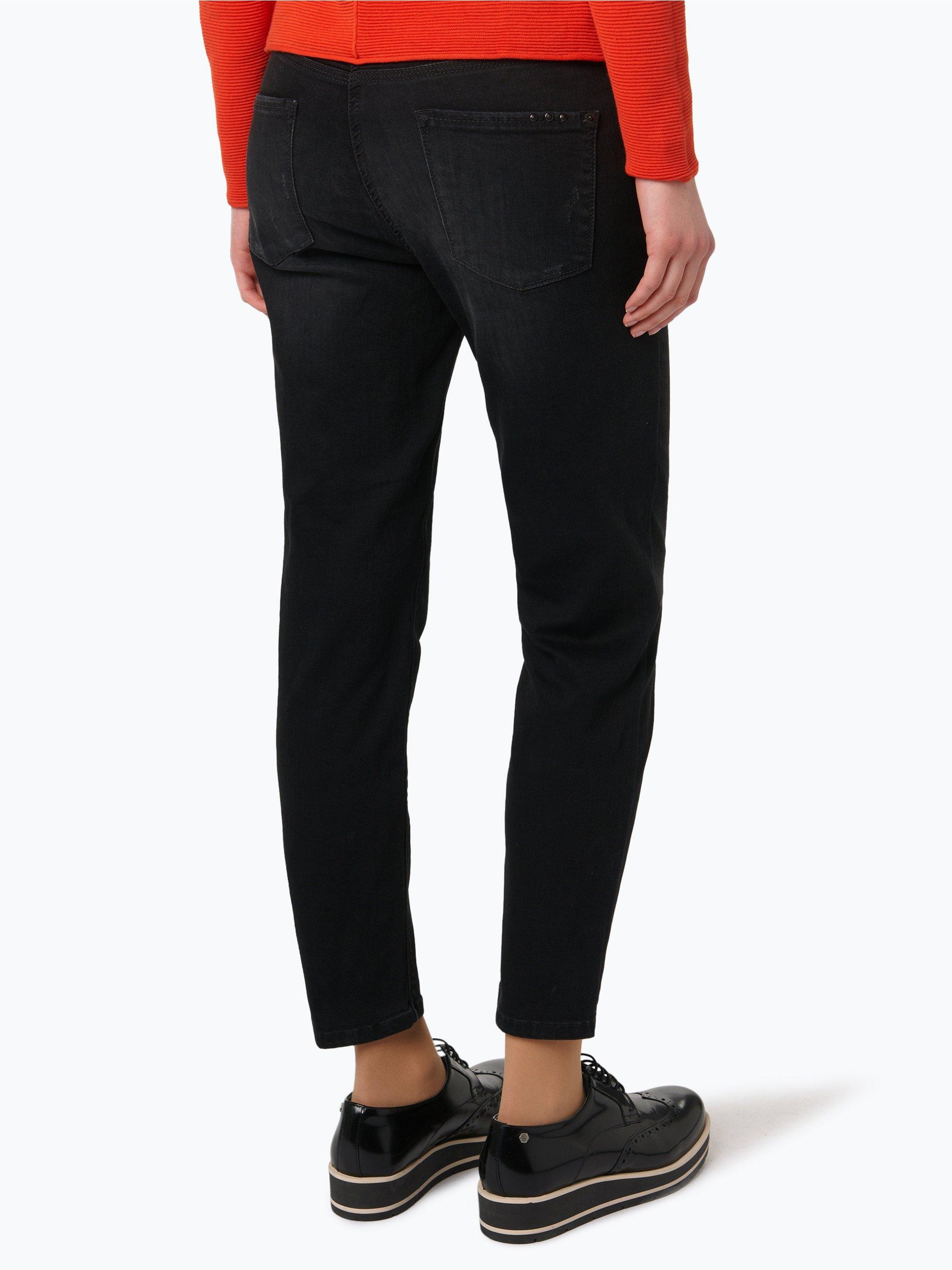 cambio damen jeans piper schwarz gemustert online kaufen vangraaf com. Black Bedroom Furniture Sets. Home Design Ideas