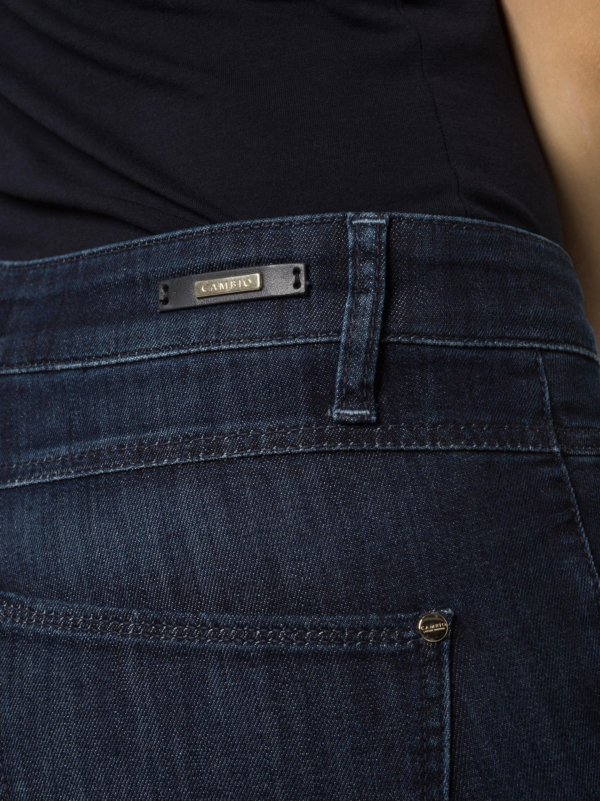 cambio damen jeans posh blau uni online kaufen vangraaf com. Black Bedroom Furniture Sets. Home Design Ideas