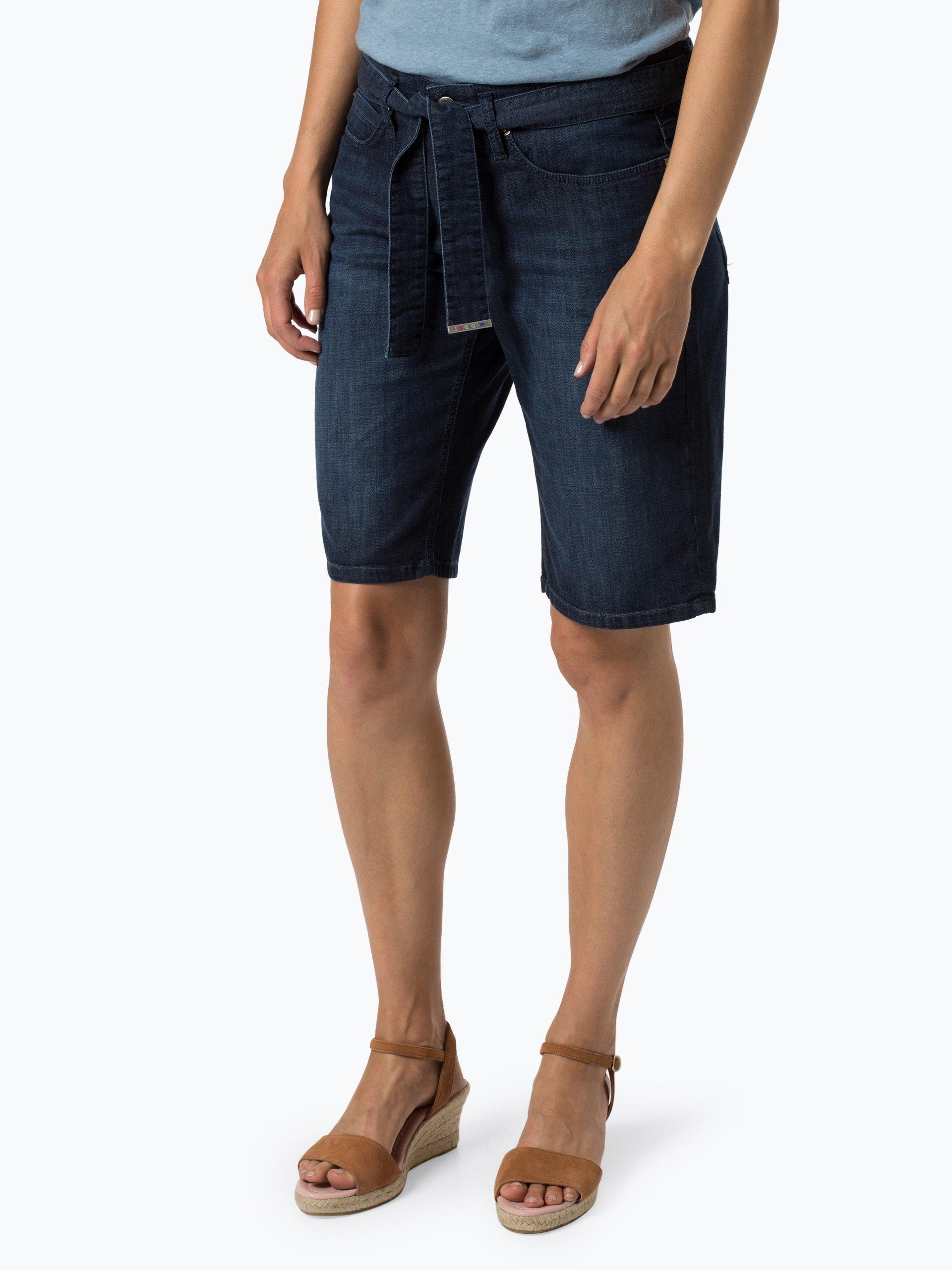 Cambio Damskie krótkie spodenki jeansowe – Lizzi
