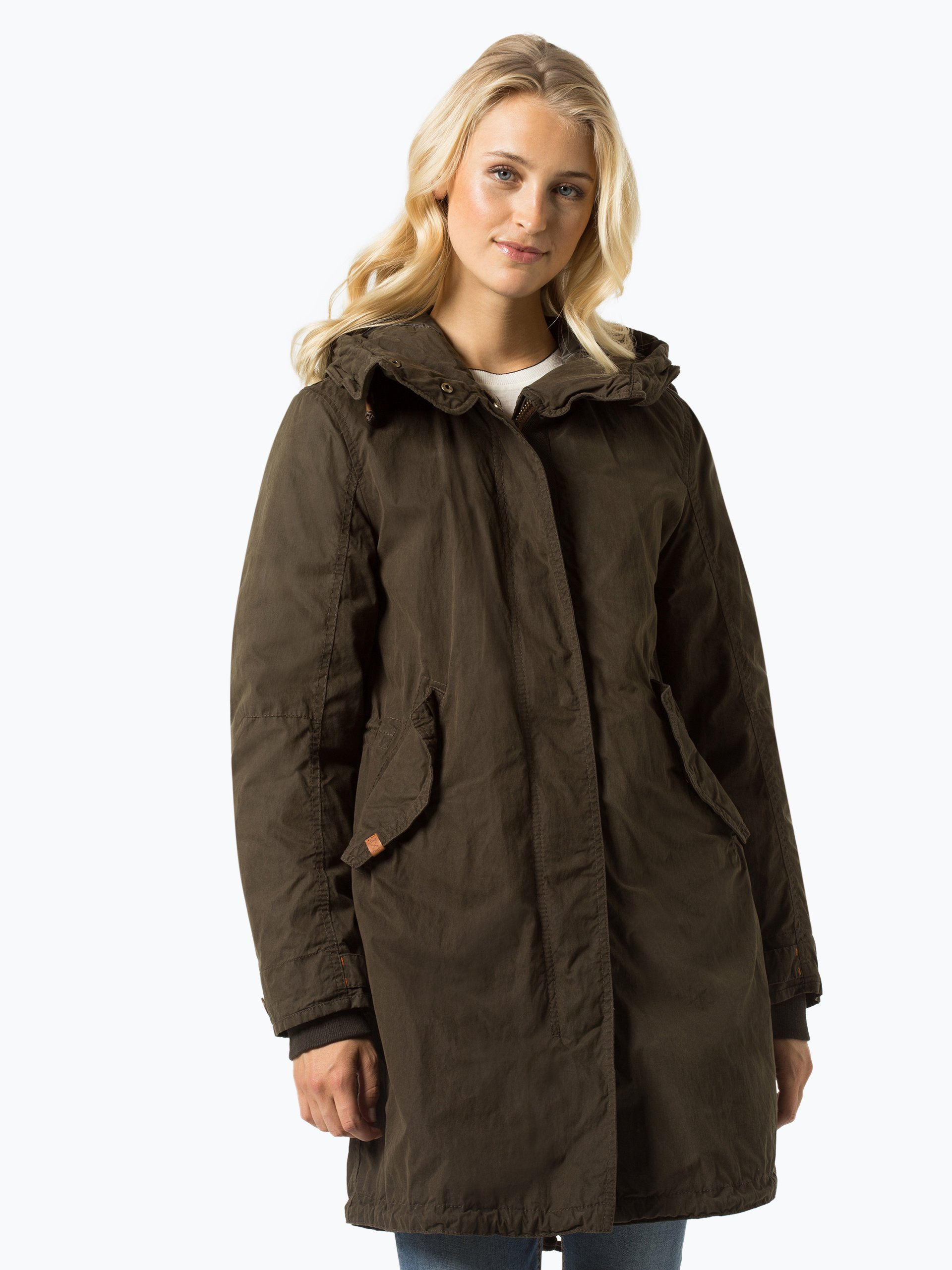 camel active damen mantel oliv uni online kaufen peek und cloppenburg de. Black Bedroom Furniture Sets. Home Design Ideas
