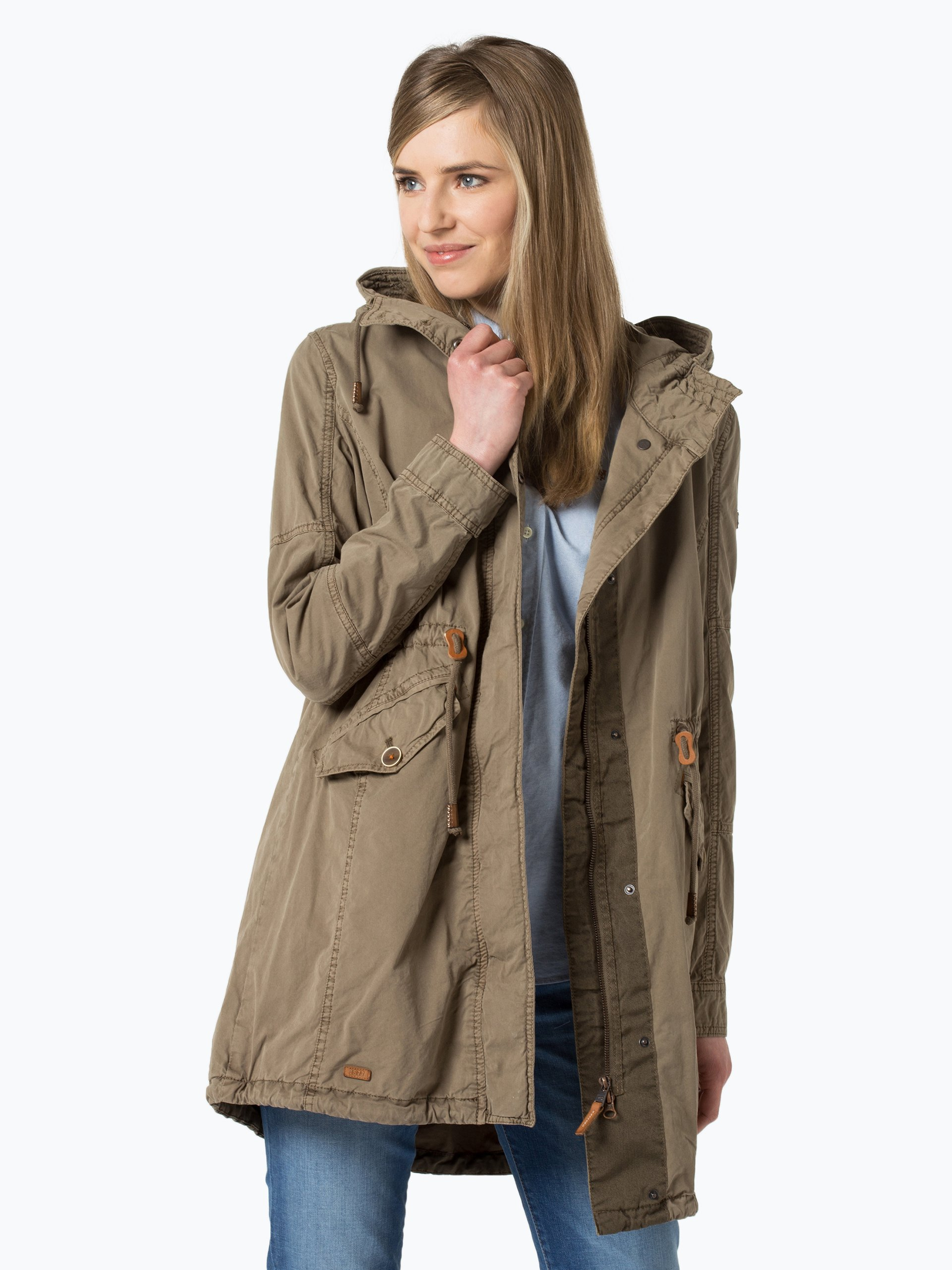 camel active damen parka gr n uni online kaufen peek und cloppenburg de. Black Bedroom Furniture Sets. Home Design Ideas