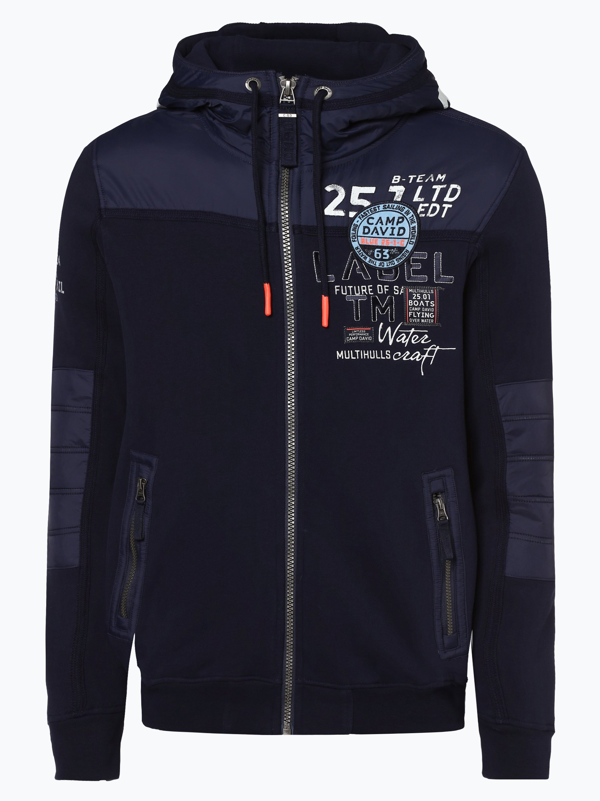 Camp David Herren Sweatjacke