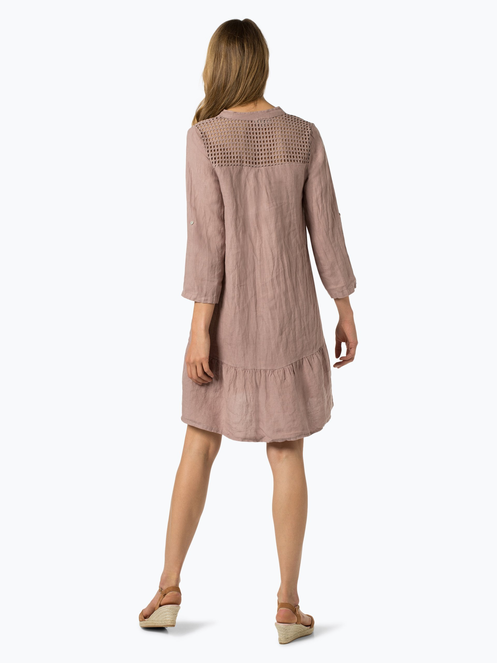Cartoon Daydream Damska sukienka lniana