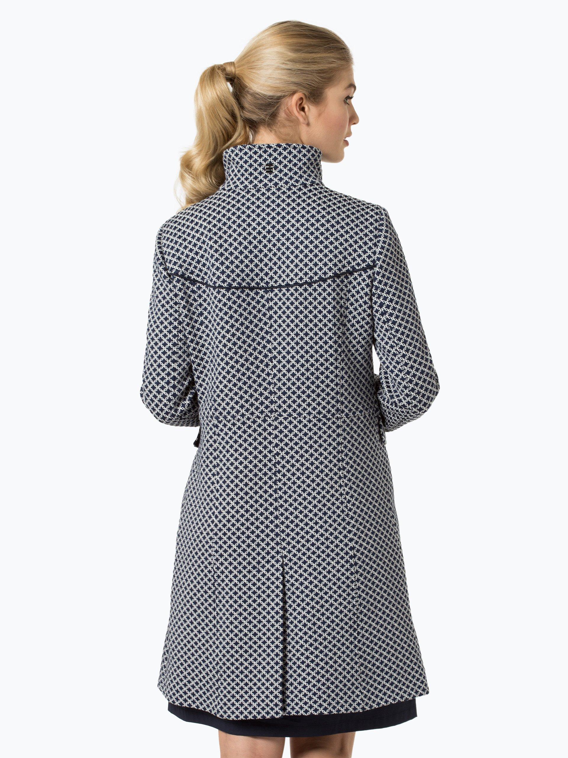cinque damen mantel cimera blau uni online kaufen peek. Black Bedroom Furniture Sets. Home Design Ideas
