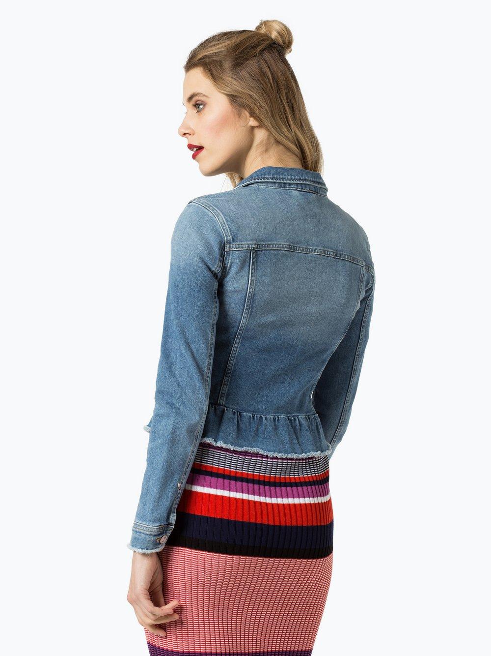comma casual identity jeans jacke kurz