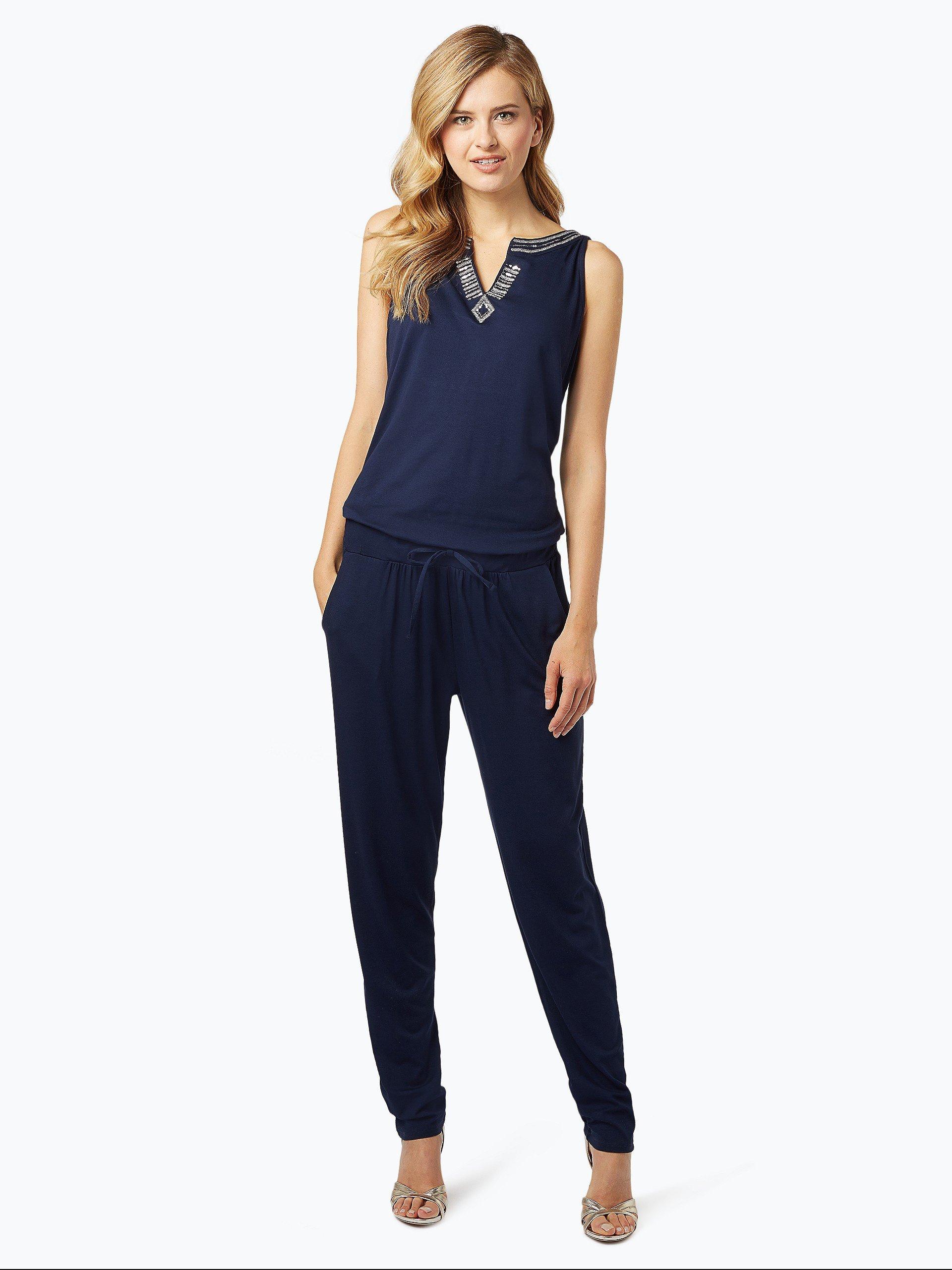 comma casual identity damen jumpsuit wei uni online. Black Bedroom Furniture Sets. Home Design Ideas