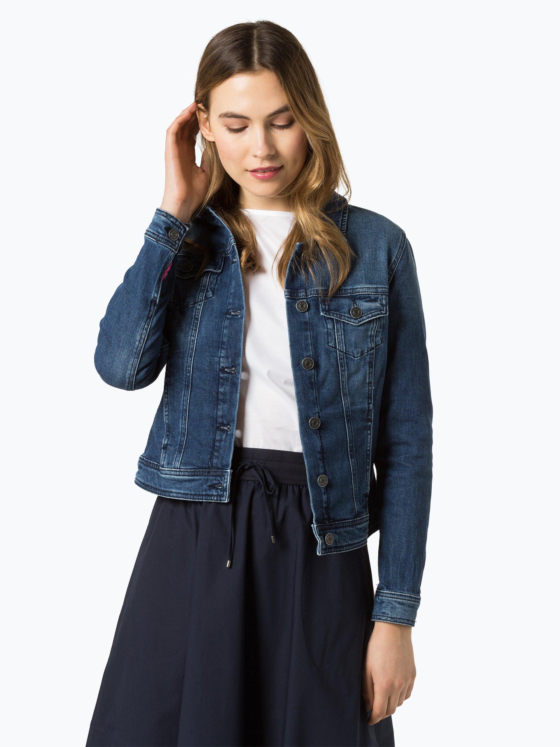 comma casual identity Damska kurtka jeansowa