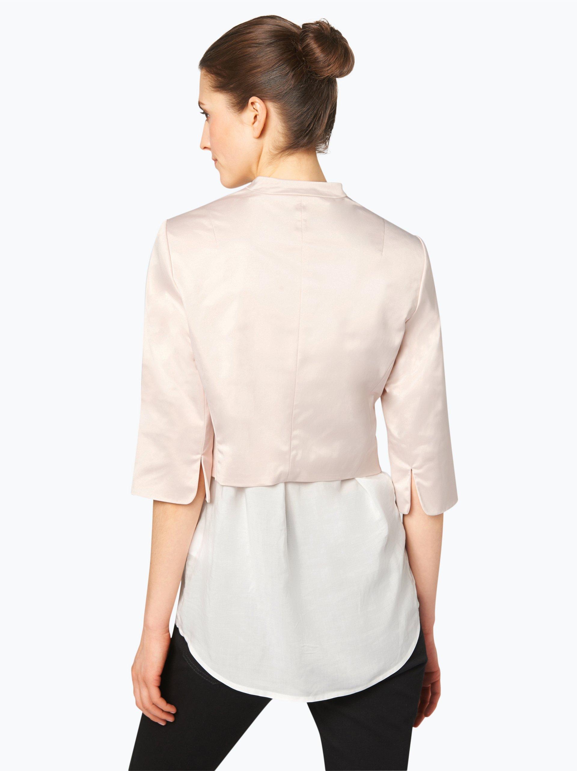 comma damen blazer rosa uni online kaufen vangraaf com. Black Bedroom Furniture Sets. Home Design Ideas