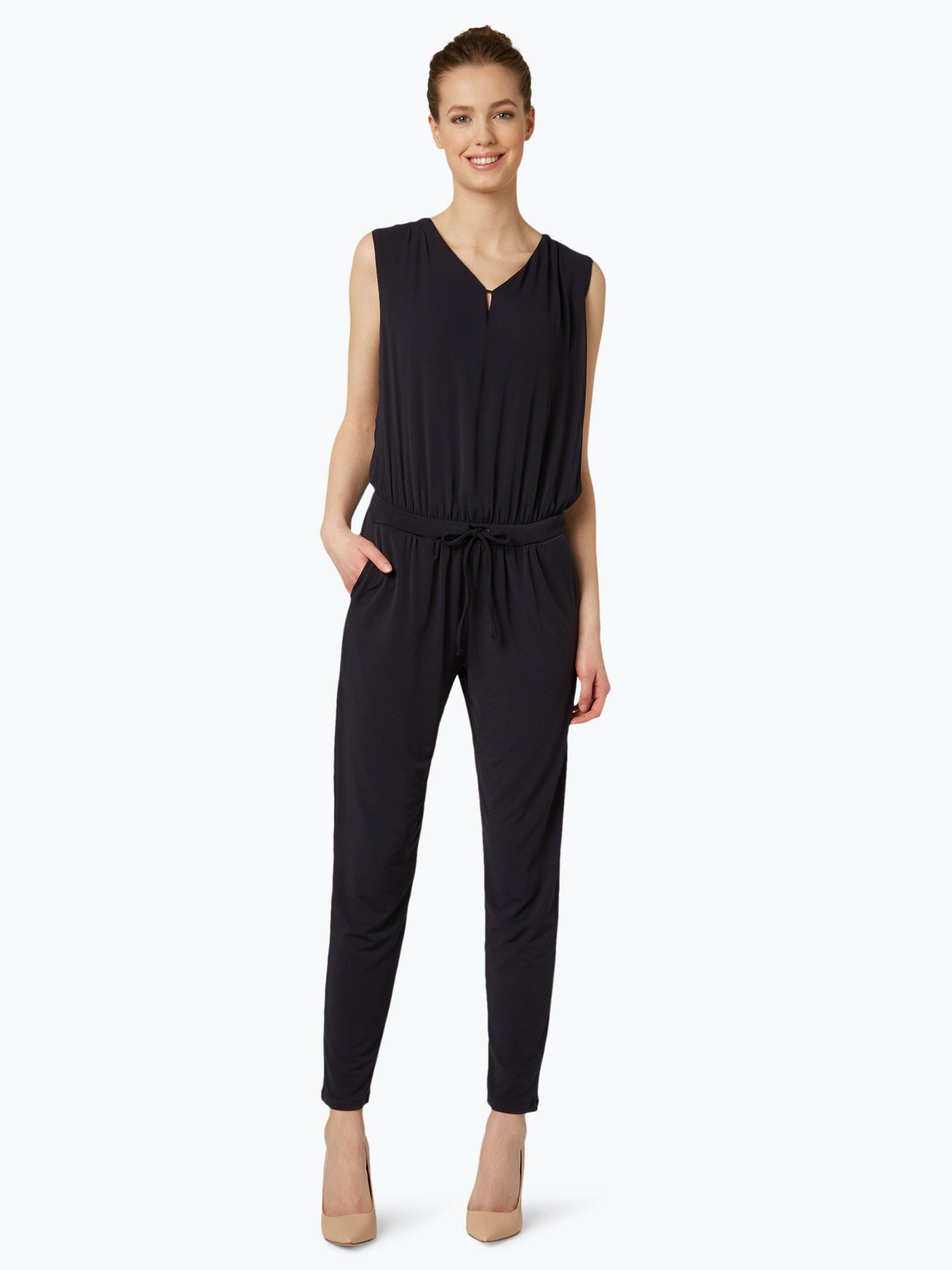 comma damen jumpsuit wei uni online kaufen vangraaf com. Black Bedroom Furniture Sets. Home Design Ideas