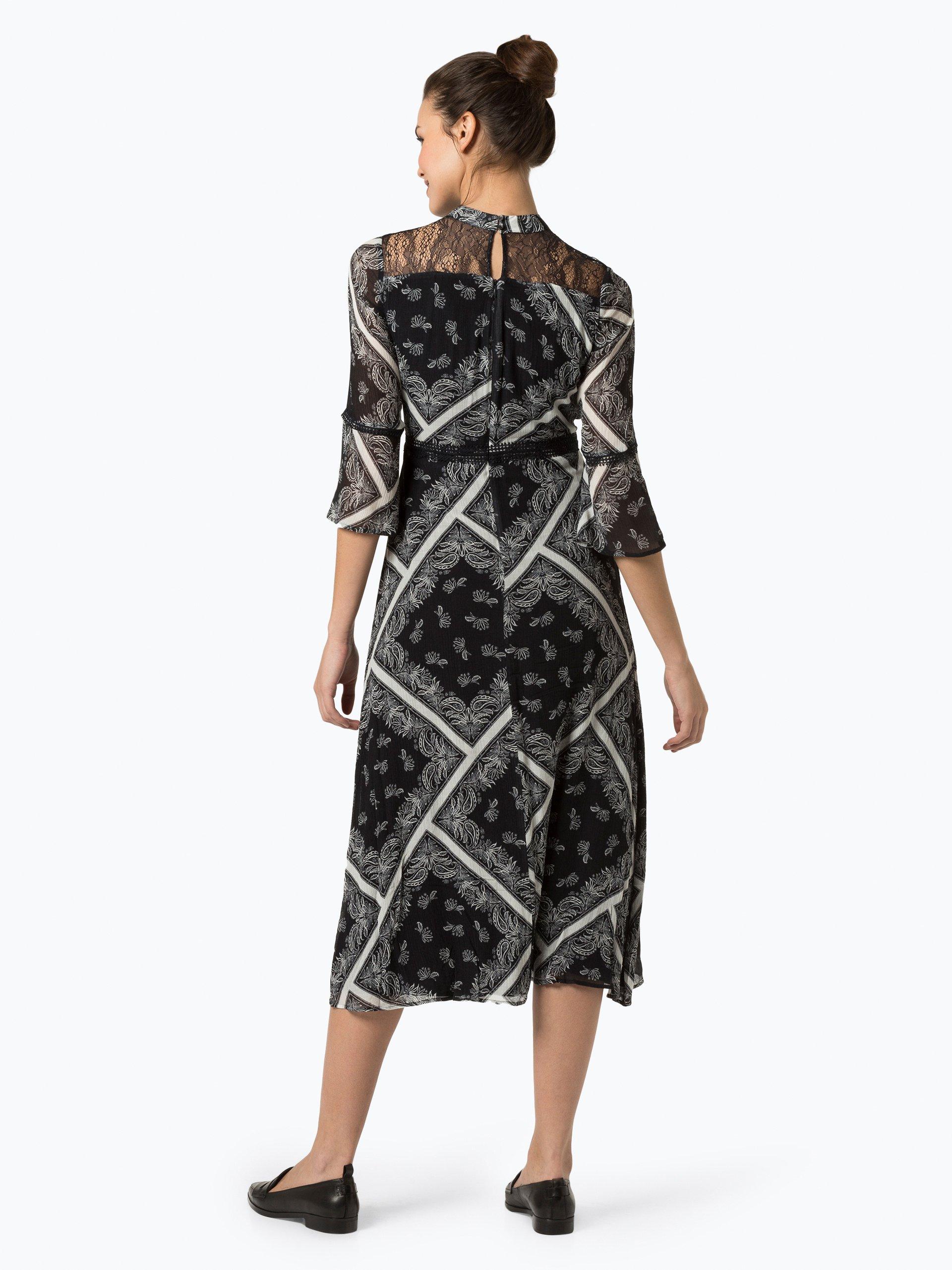 Comma Damen Kleid mit Seiden-Anteil