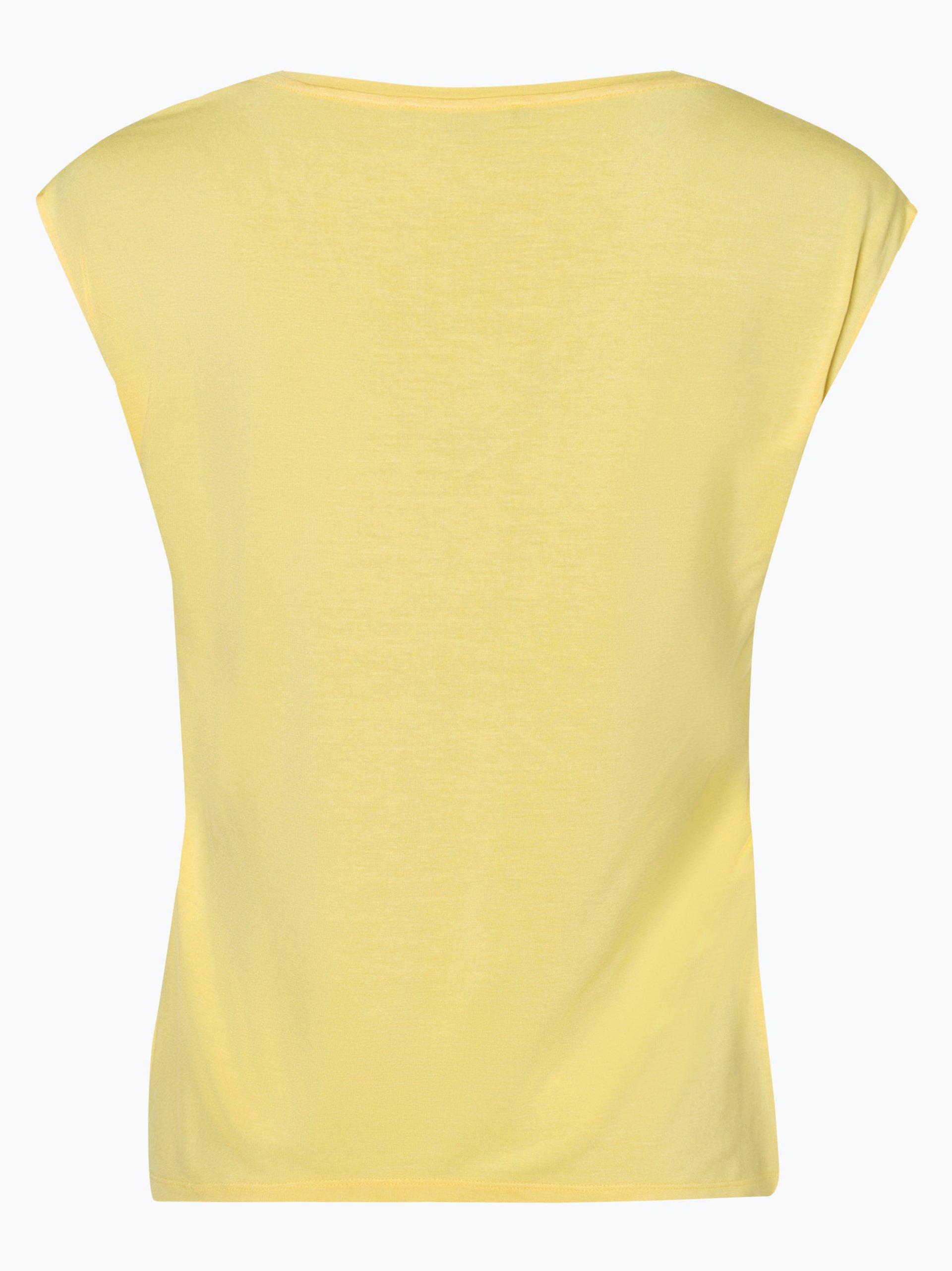 comma Damen T-Shirt mit Seiden-Anteil