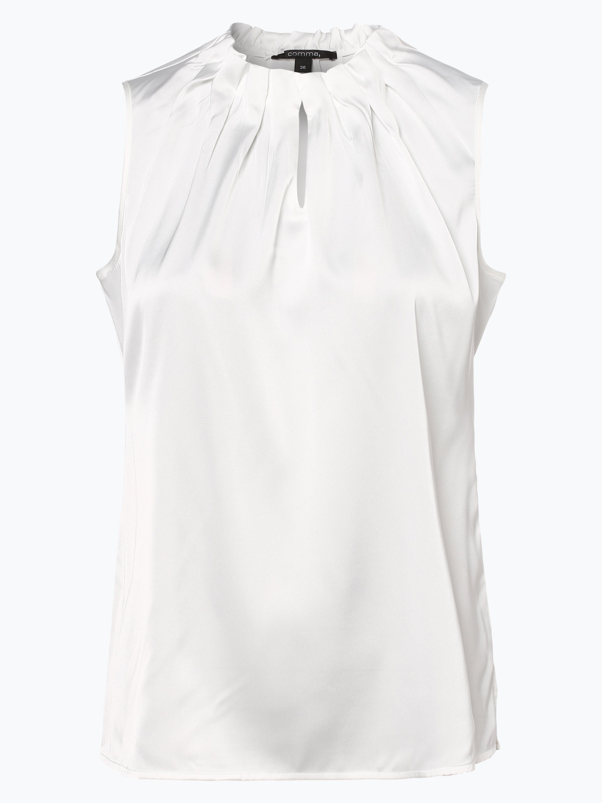 Comma Damska bluzka bez rękawów