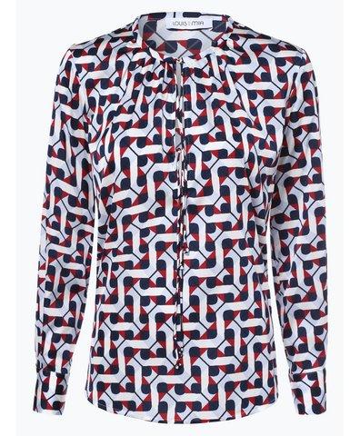Damen Blusenshirt mit Seiden-Anteil