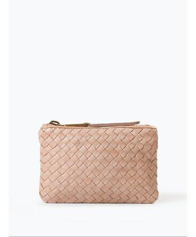 Damen Clutch aus Leder