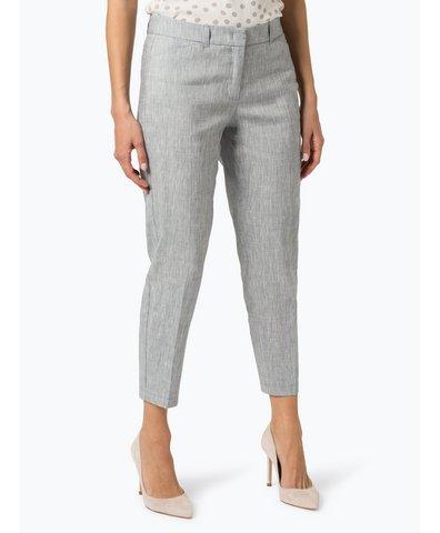 Damen Hose mit Leinen-Anteil - Slim Peg Leg